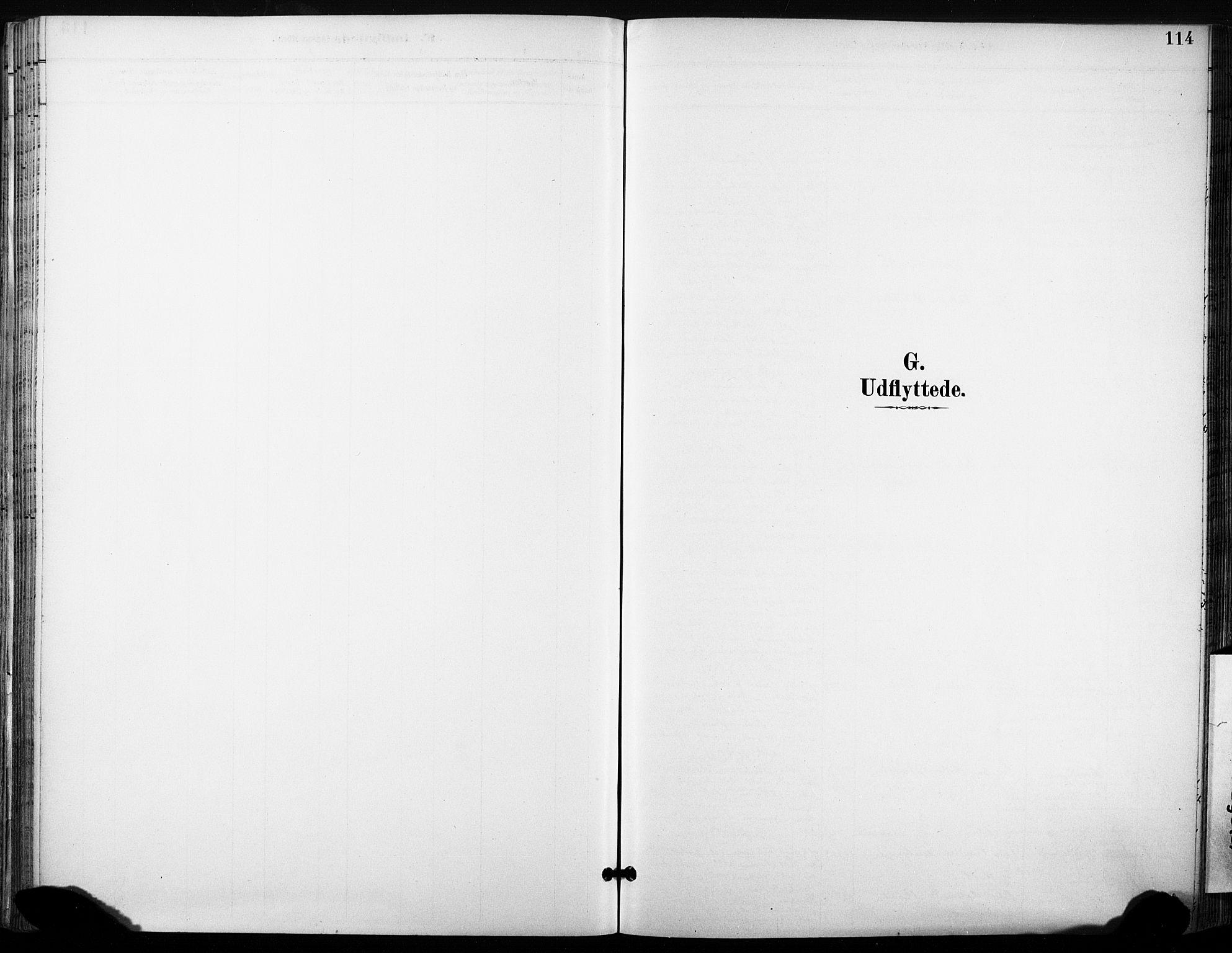 SAT, Ministerialprotokoller, klokkerbøker og fødselsregistre - Sør-Trøndelag, 685/L0973: Ministerialbok nr. 685A10, 1891-1907, s. 114