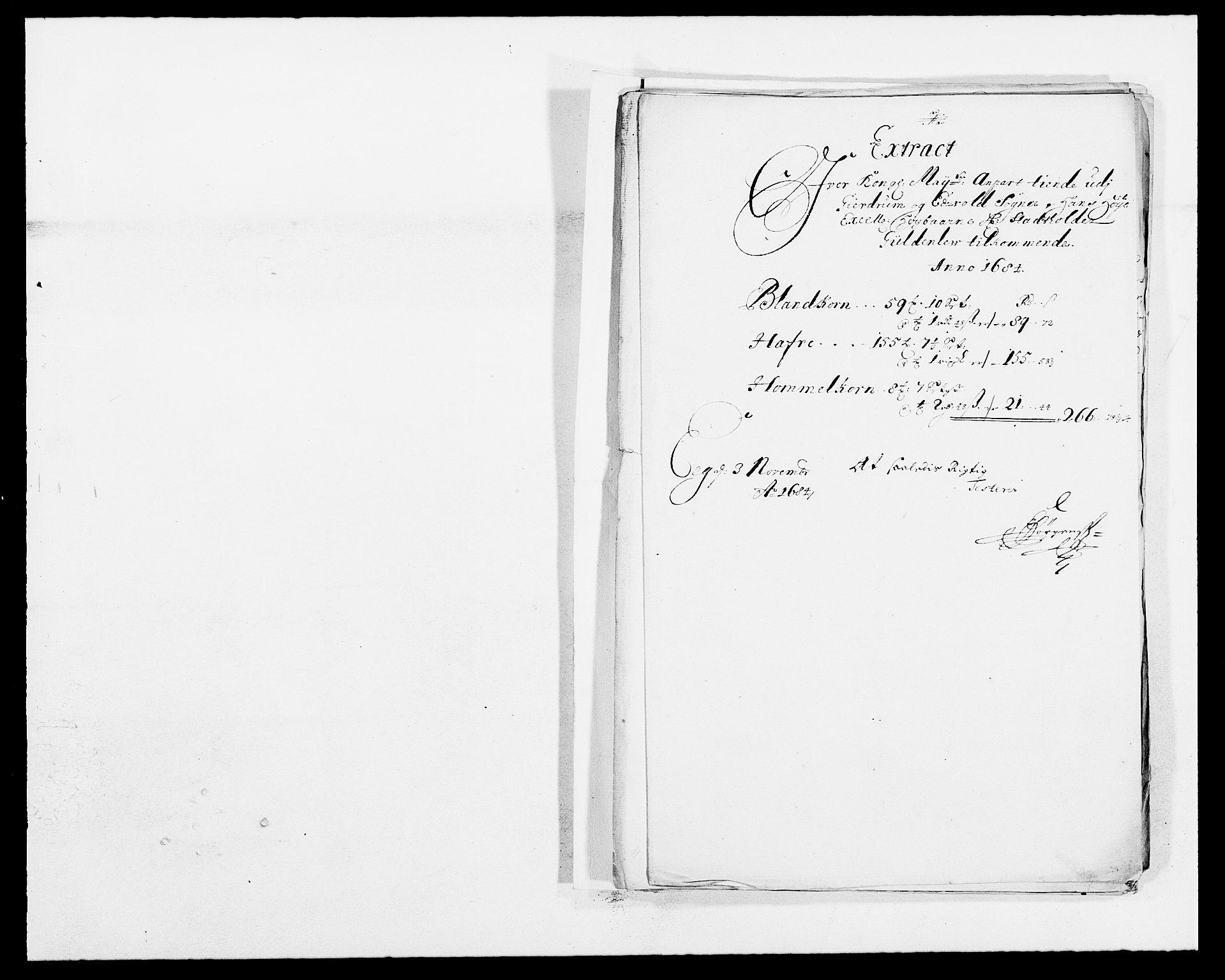 RA, Rentekammeret inntil 1814, Reviderte regnskaper, Fogderegnskap, R12/L0698: Fogderegnskap Øvre Romerike, 1684, s. 89