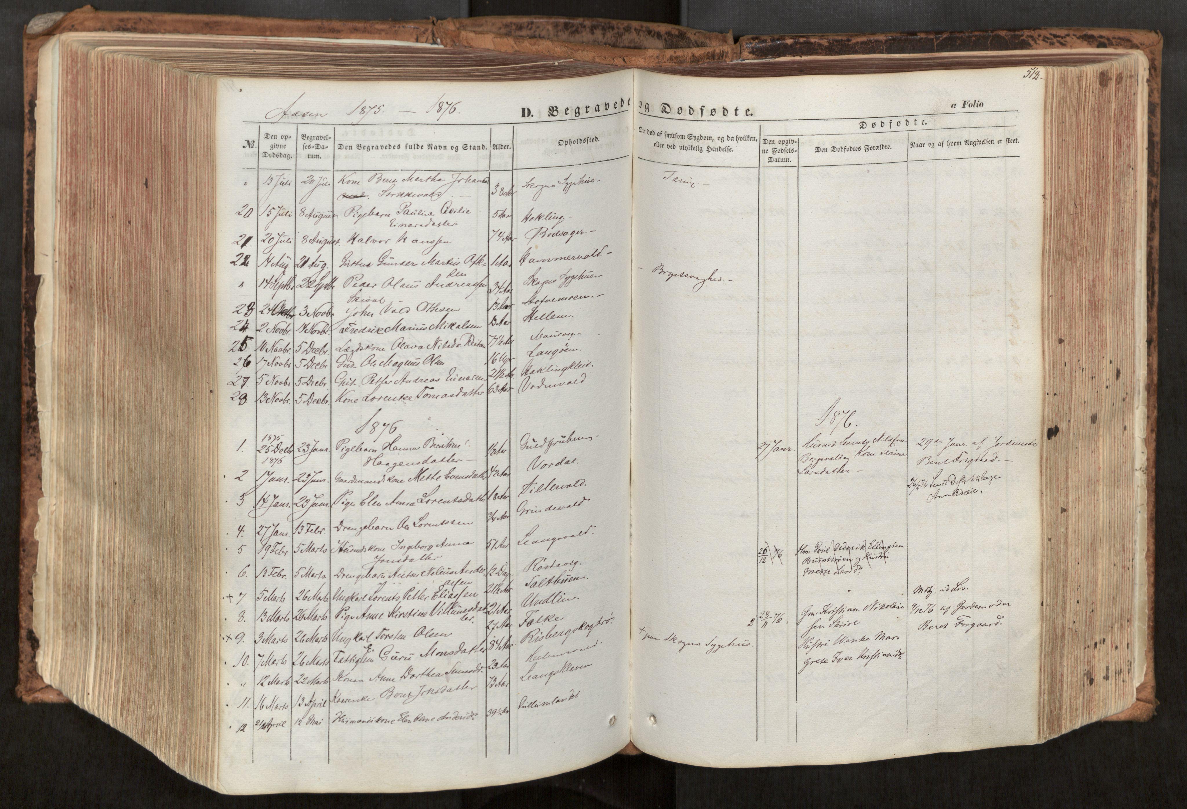 SAT, Ministerialprotokoller, klokkerbøker og fødselsregistre - Nord-Trøndelag, 713/L0116: Ministerialbok nr. 713A07, 1850-1877, s. 512