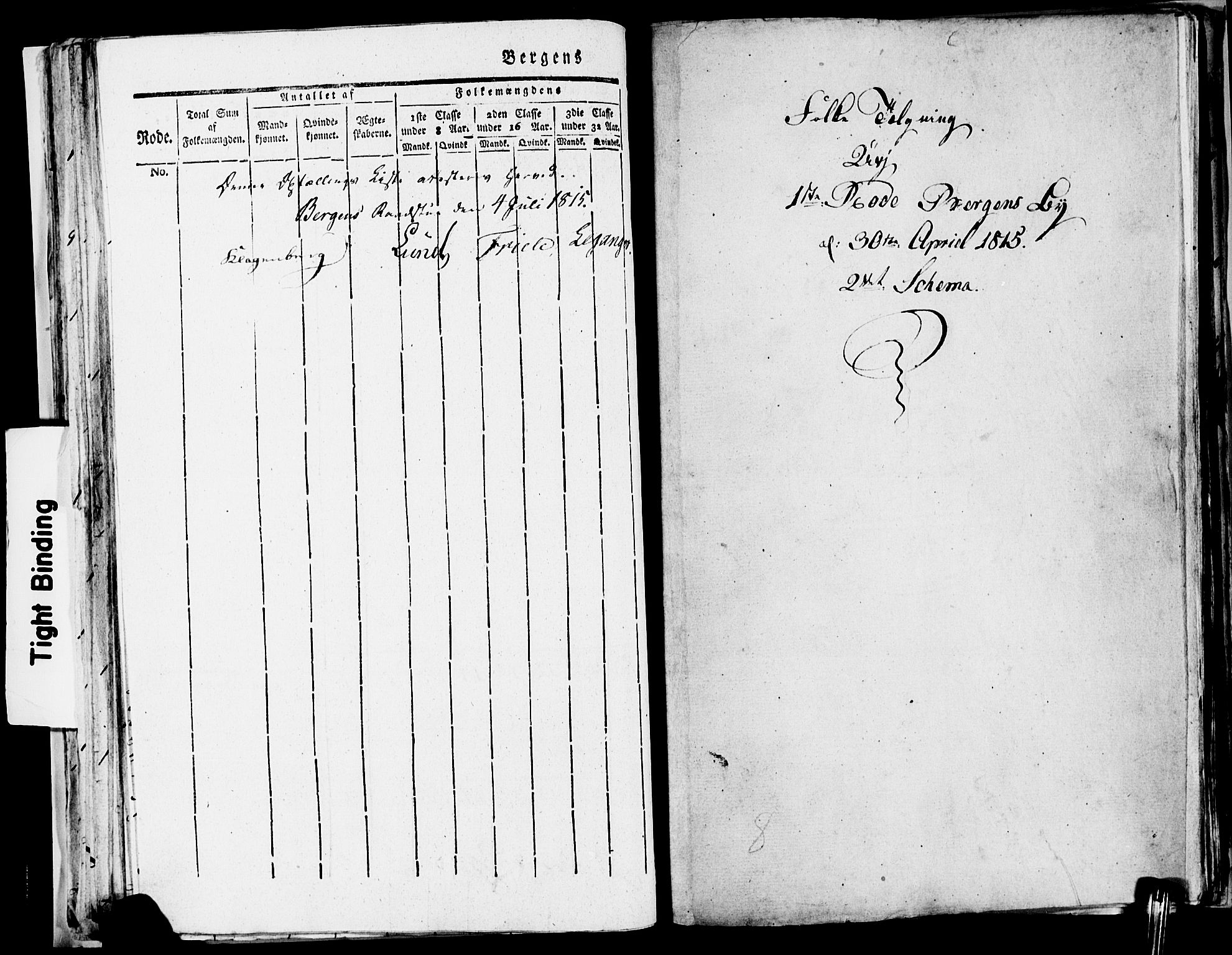 SAB, Folketelling 1815 for 1301 Bergen kjøpstad, 1815, s. 47