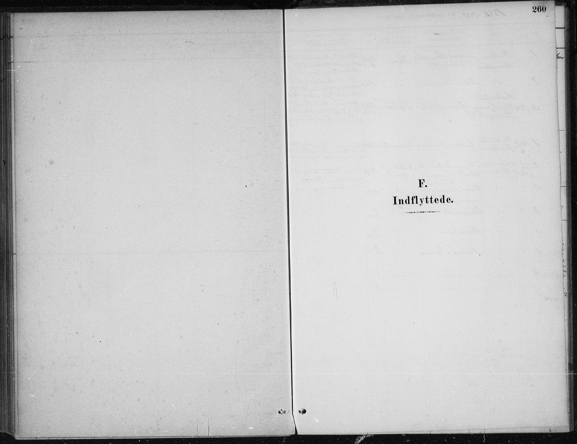SAB, Kvam Sokneprestembete, H/Haa: Ministerialbok nr. B  1, 1880-1908, s. 260