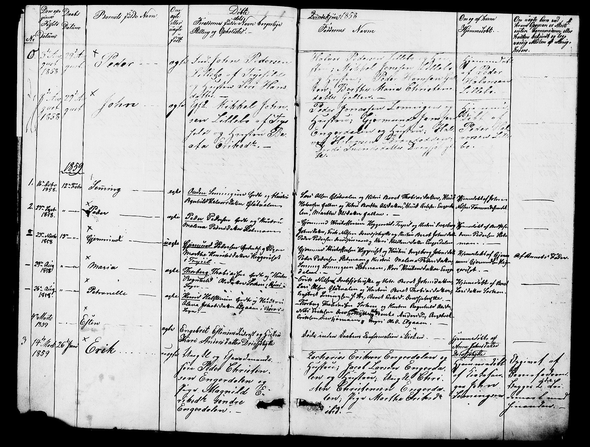 SAH, Rendalen prestekontor, H/Ha/Hab/L0002: Klokkerbok nr. 2, 1858-1880, s. 4