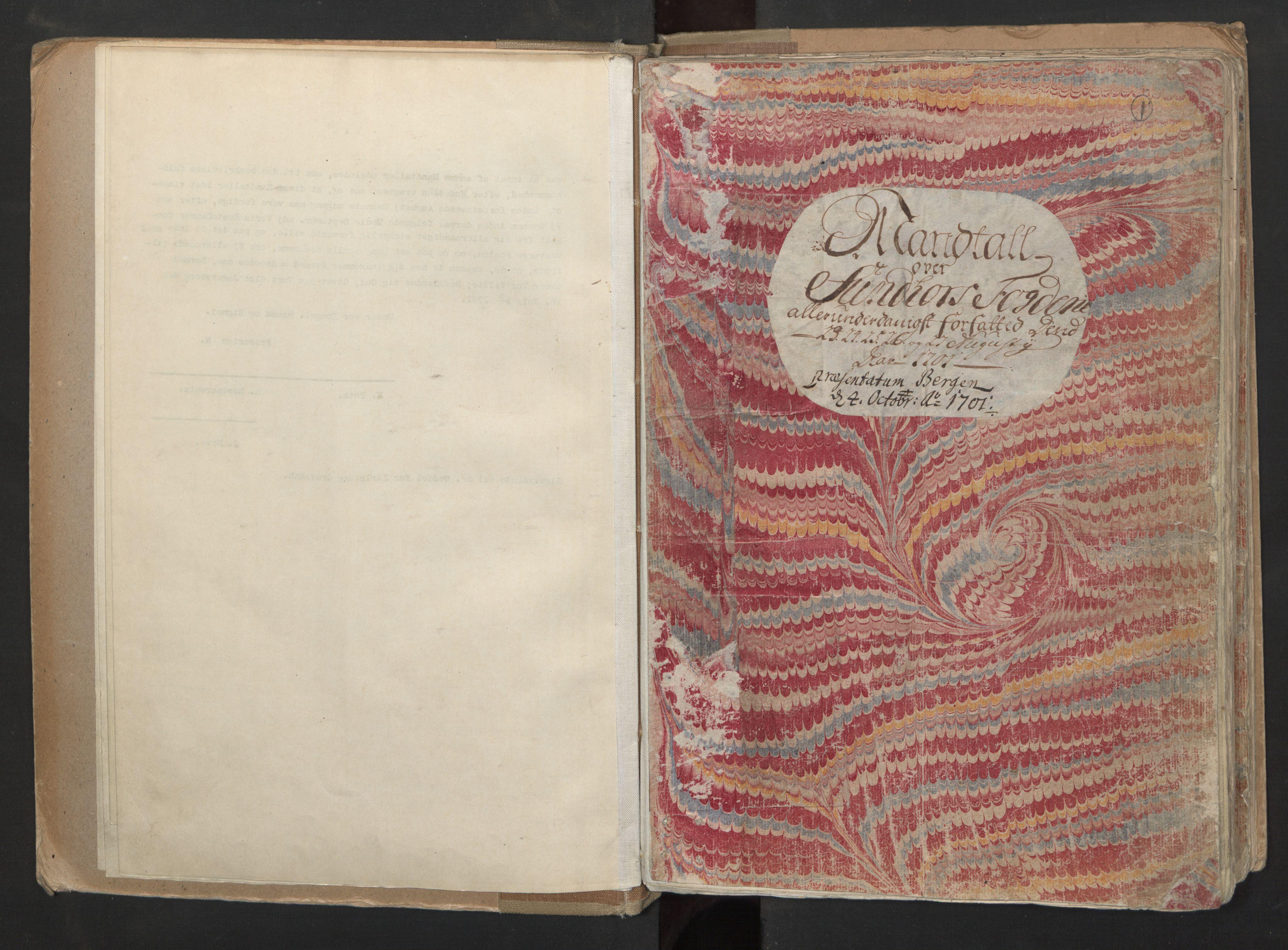 RA, Manntallet 1701, nr. 6: Sunnhordland fogderi og Hardanger fogderi, 1701, s. 1