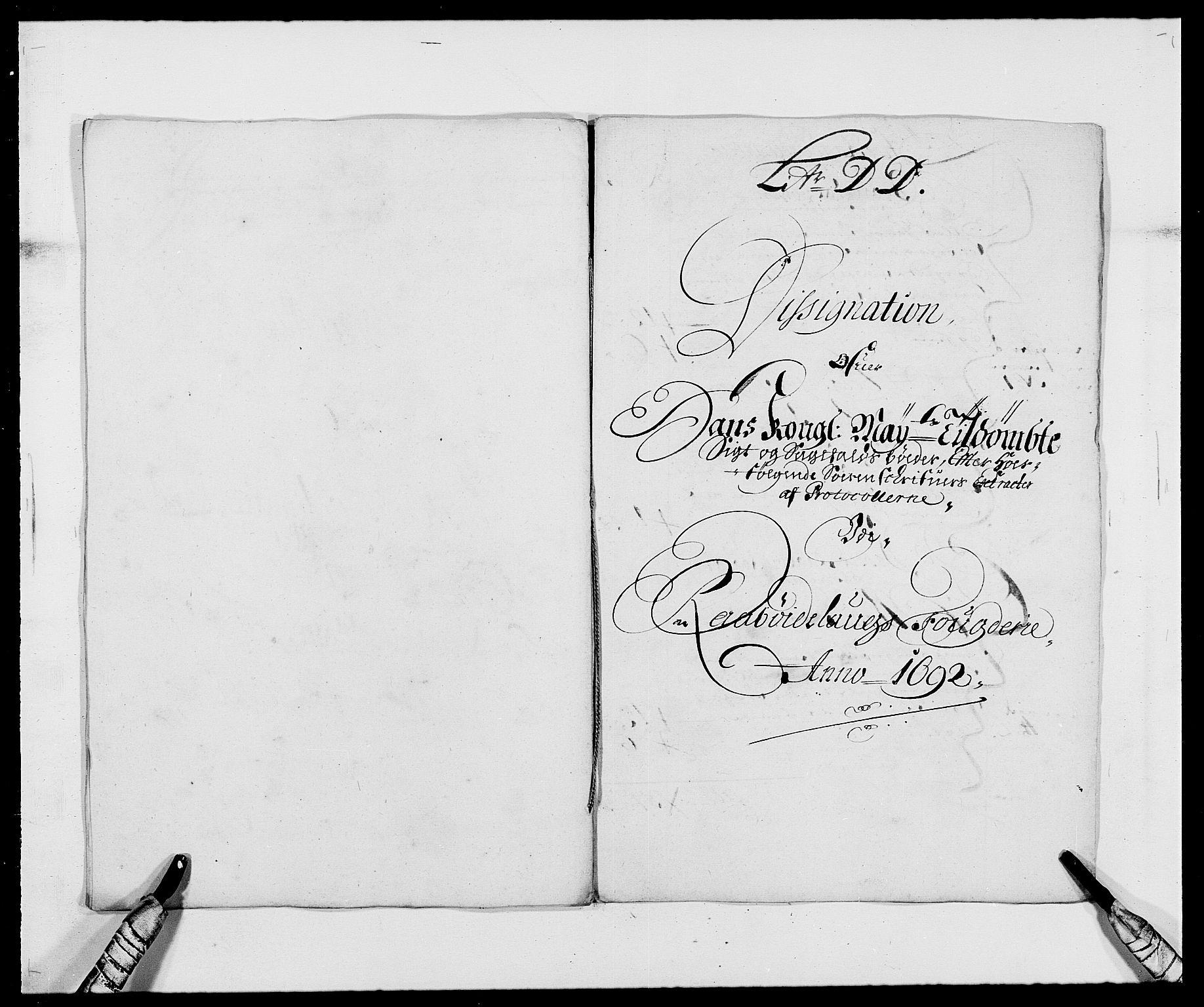 RA, Rentekammeret inntil 1814, Reviderte regnskaper, Fogderegnskap, R40/L2443: Fogderegnskap Råbyggelag, 1691-1692, s. 139