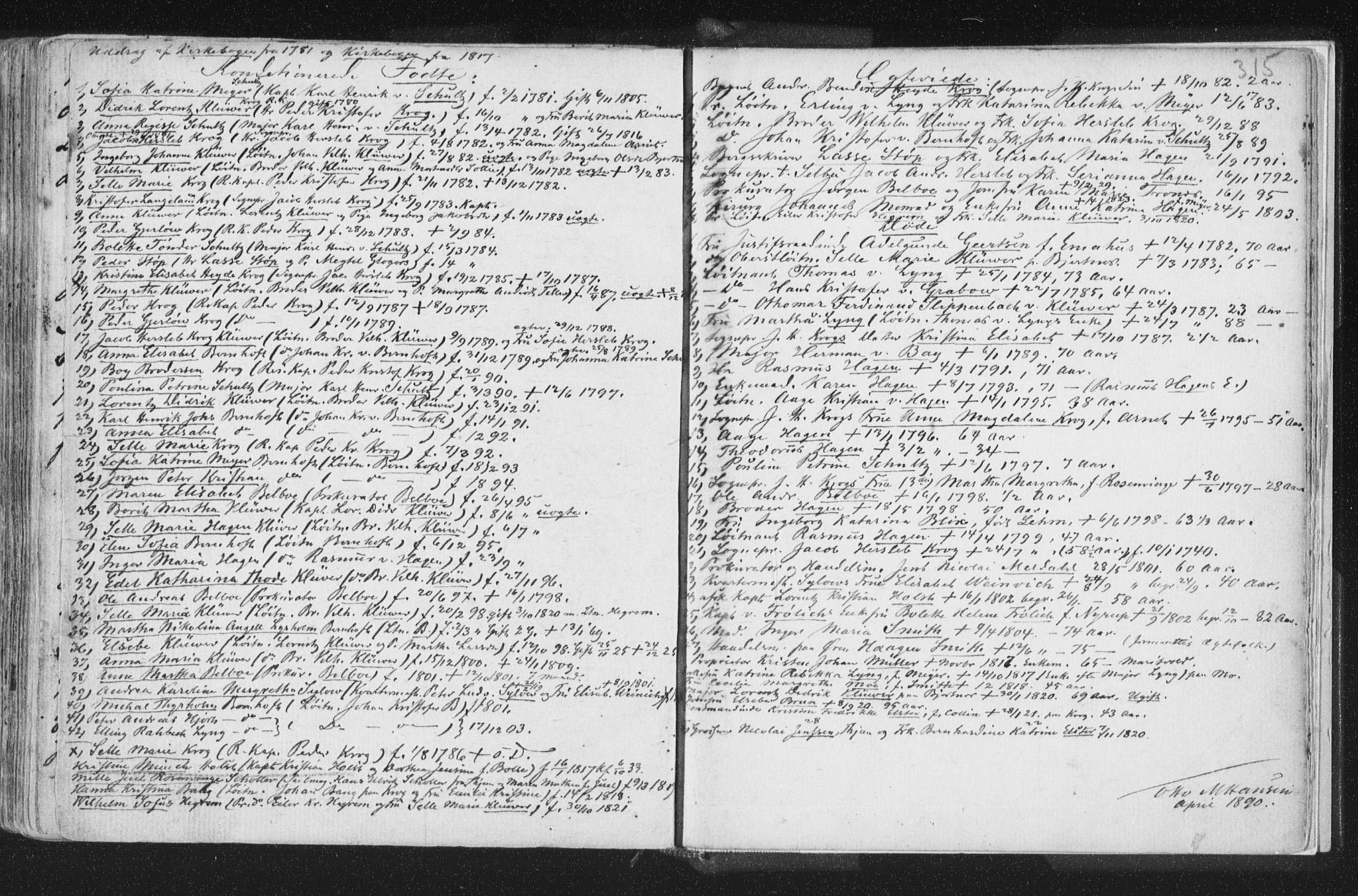 SAT, Ministerialprotokoller, klokkerbøker og fødselsregistre - Nord-Trøndelag, 723/L0232: Ministerialbok nr. 723A03, 1781-1804, s. 315