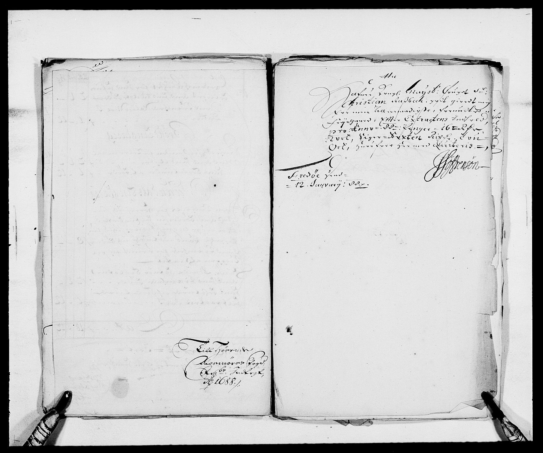 RA, Rentekammeret inntil 1814, Reviderte regnskaper, Fogderegnskap, R56/L3733: Fogderegnskap Nordmøre, 1687-1689, s. 321