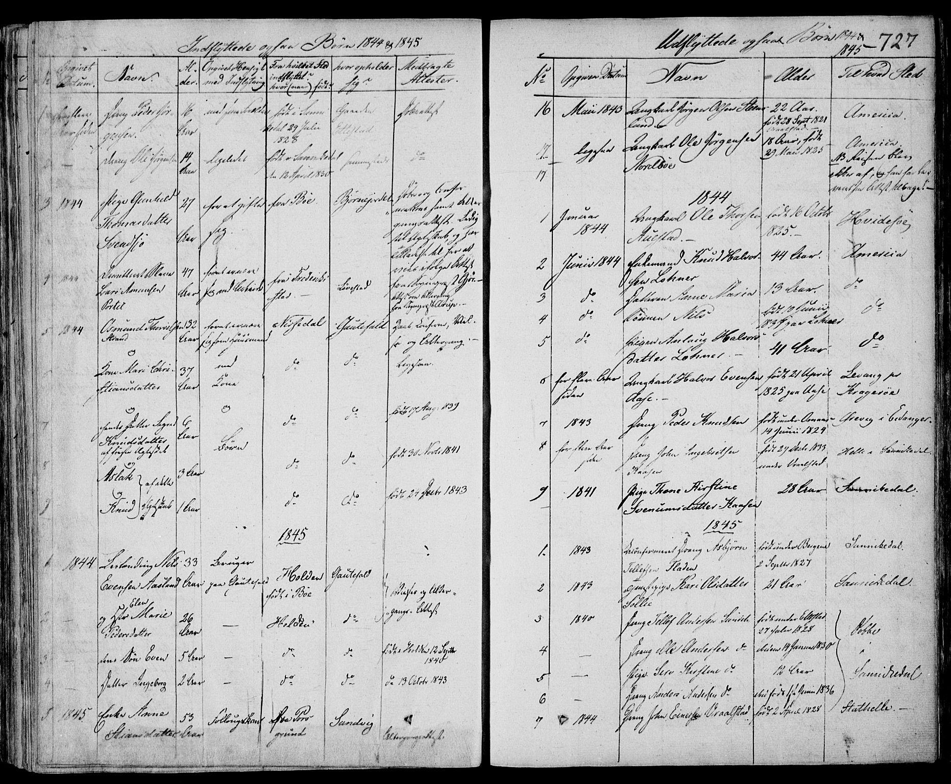 SAKO, Drangedal kirkebøker, F/Fa/L0007b: Ministerialbok nr. 7b, 1837-1856, s. 727