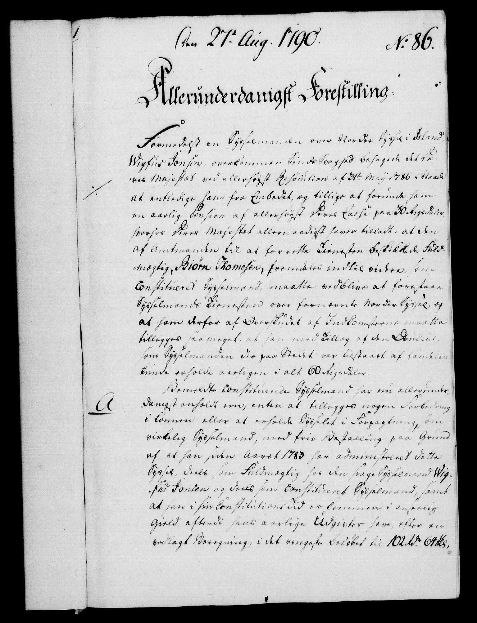RA, Rentekammeret, Kammerkanselliet, G/Gf/Gfa/L0072: Norsk relasjons- og resolusjonsprotokoll (merket RK 52.72), 1790, s. 589