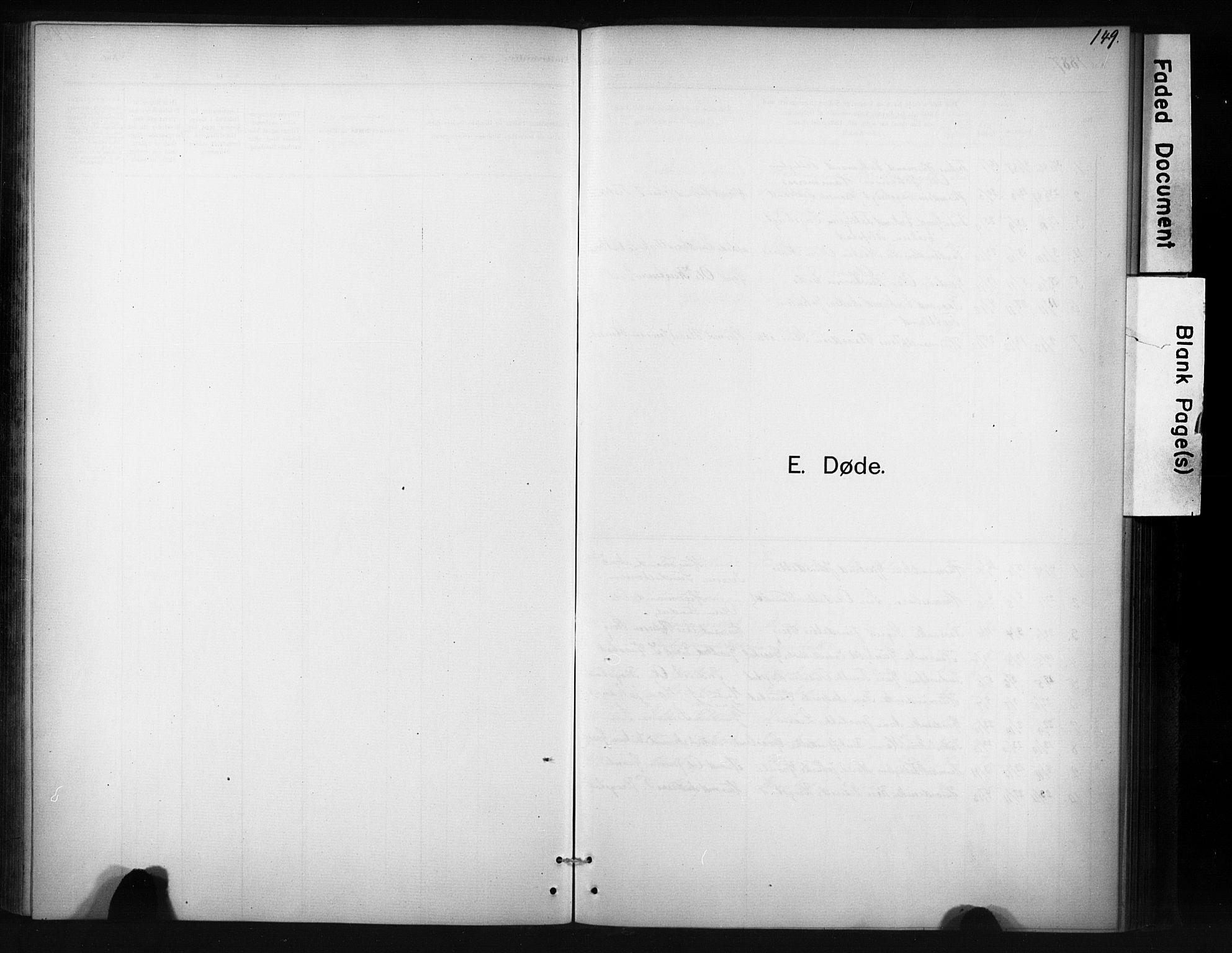 SAT, Ministerialprotokoller, klokkerbøker og fødselsregistre - Sør-Trøndelag, 694/L1127: Ministerialbok nr. 694A01, 1887-1905, s. 149