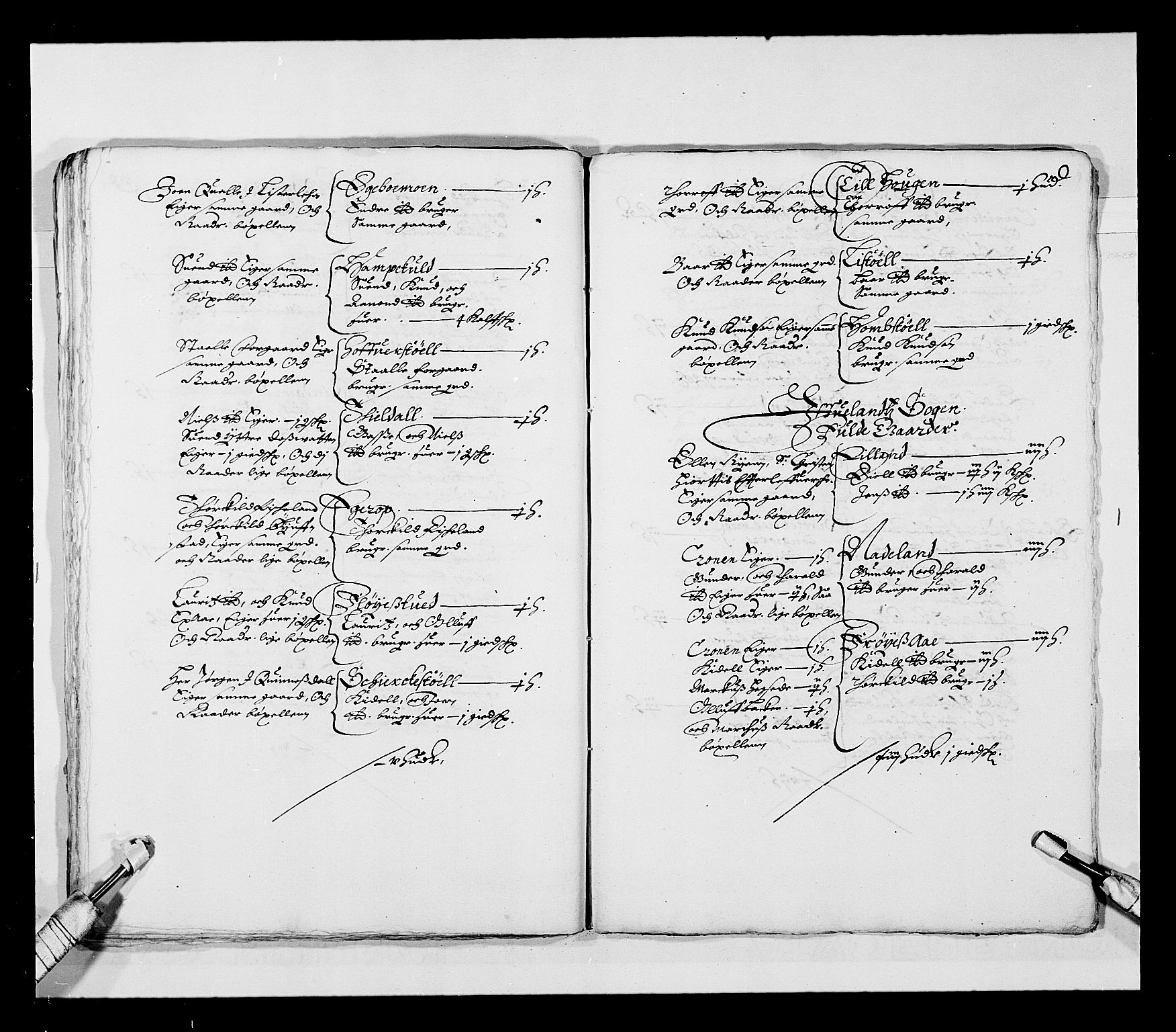 RA, Stattholderembetet 1572-1771, Ek/L0023: Jordebøker 1633-1658:, 1648-1649, s. 37