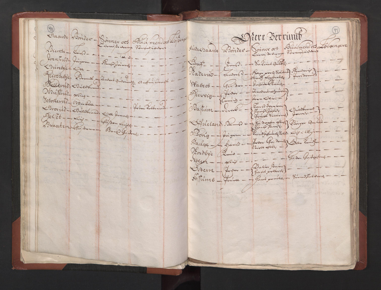 RA, Fogdenes og sorenskrivernes manntall 1664-1666, nr. 2: Aker fogderi, Follo fogderi, Nedre Romerike fogderi og Øvre Romerike fogderi, 1664, s. 40-41