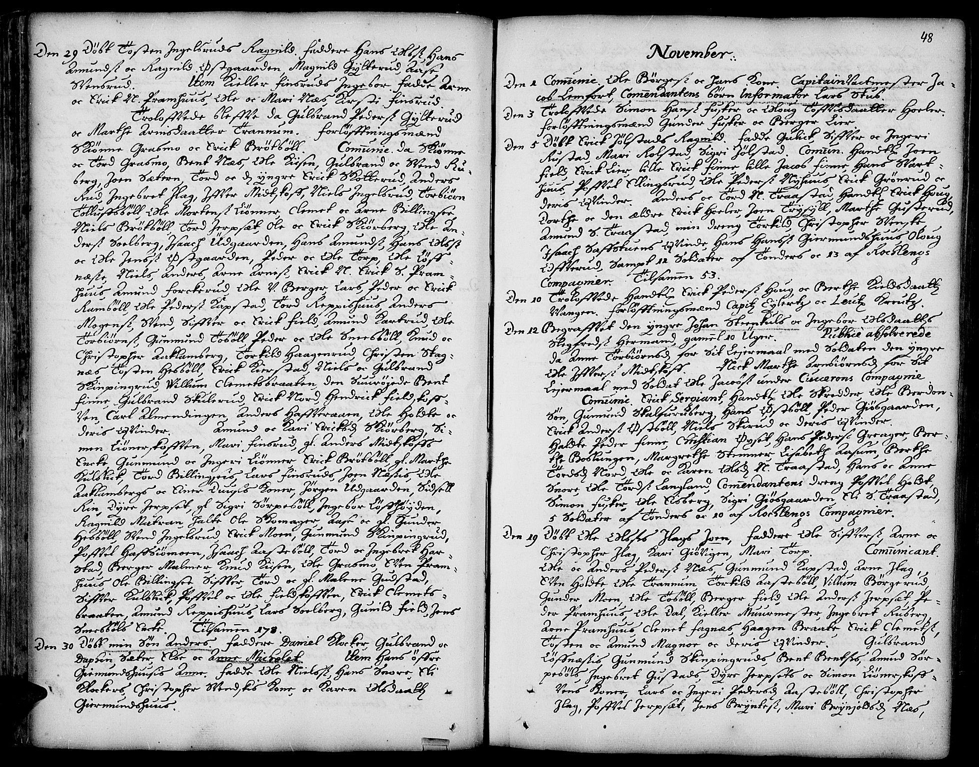 SAH, Vinger prestekontor, Ministerialbok nr. 1, 1689-1729, s. 48