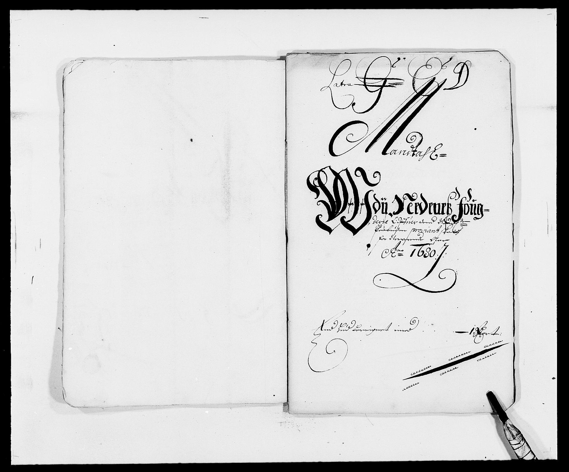 RA, Rentekammeret inntil 1814, Reviderte regnskaper, Fogderegnskap, R39/L2304: Fogderegnskap Nedenes, 1680-1682, s. 83