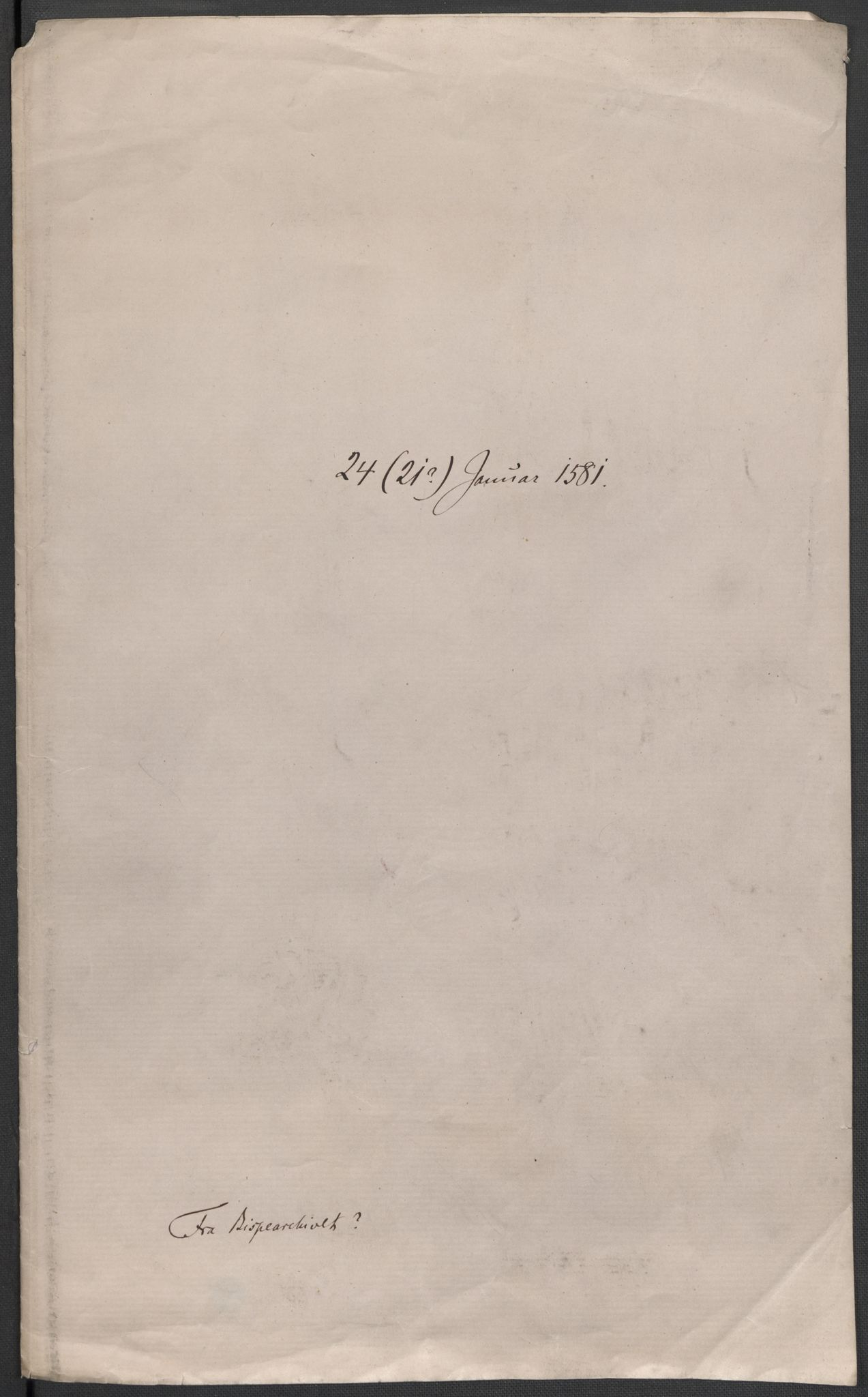 RA, Riksarkivets diplomsamling, F02/L0083: Dokumenter, 1581, s. 2