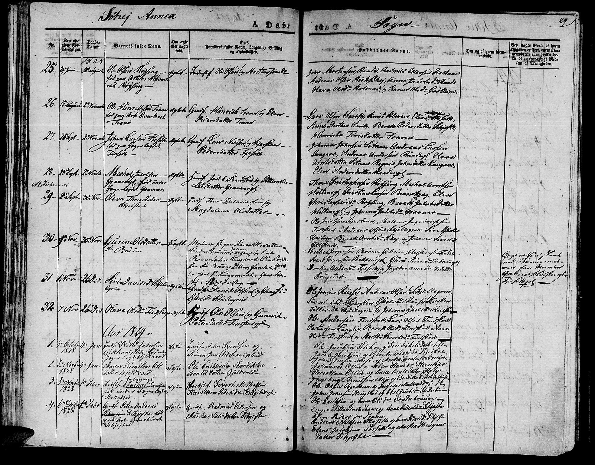 SAT, Ministerialprotokoller, klokkerbøker og fødselsregistre - Nord-Trøndelag, 735/L0336: Ministerialbok nr. 735A05 /2, 1825-1835, s. 59