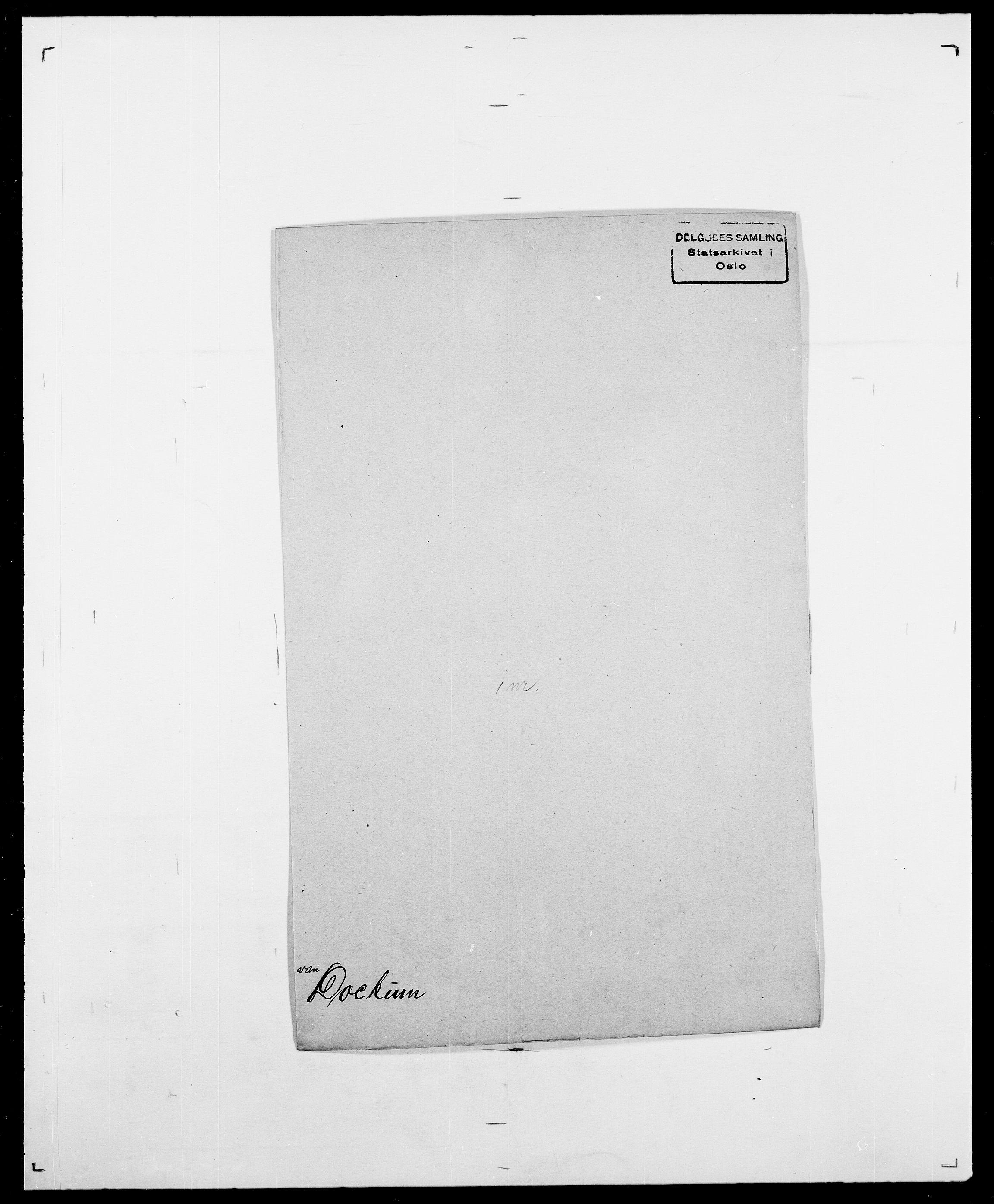 SAO, Delgobe, Charles Antoine - samling, D/Da/L0009: Dahl - v. Düren, s. 624