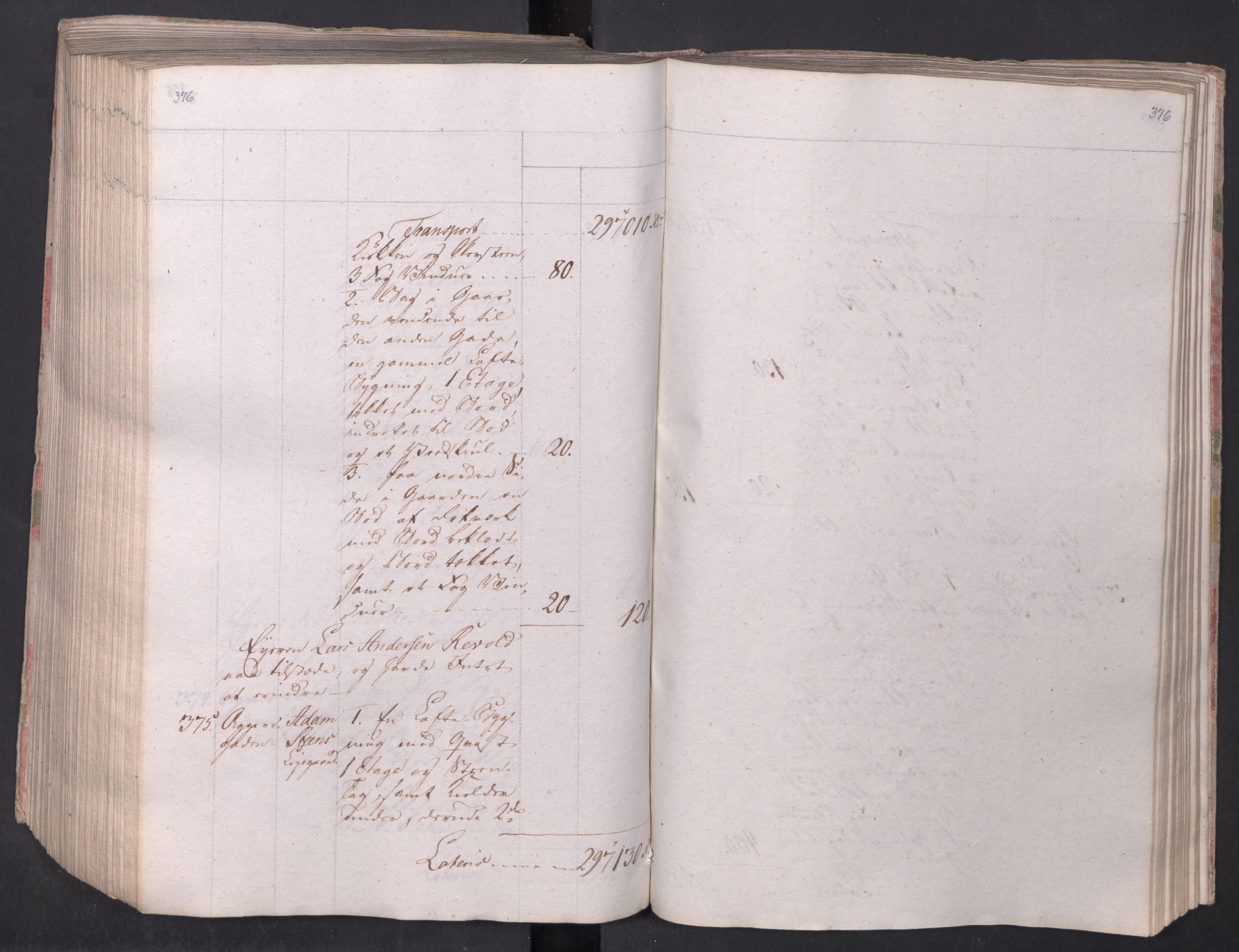 SAO, Kristiania stiftamt, I/Ia/L0015: Branntakster, 1797, s. 376