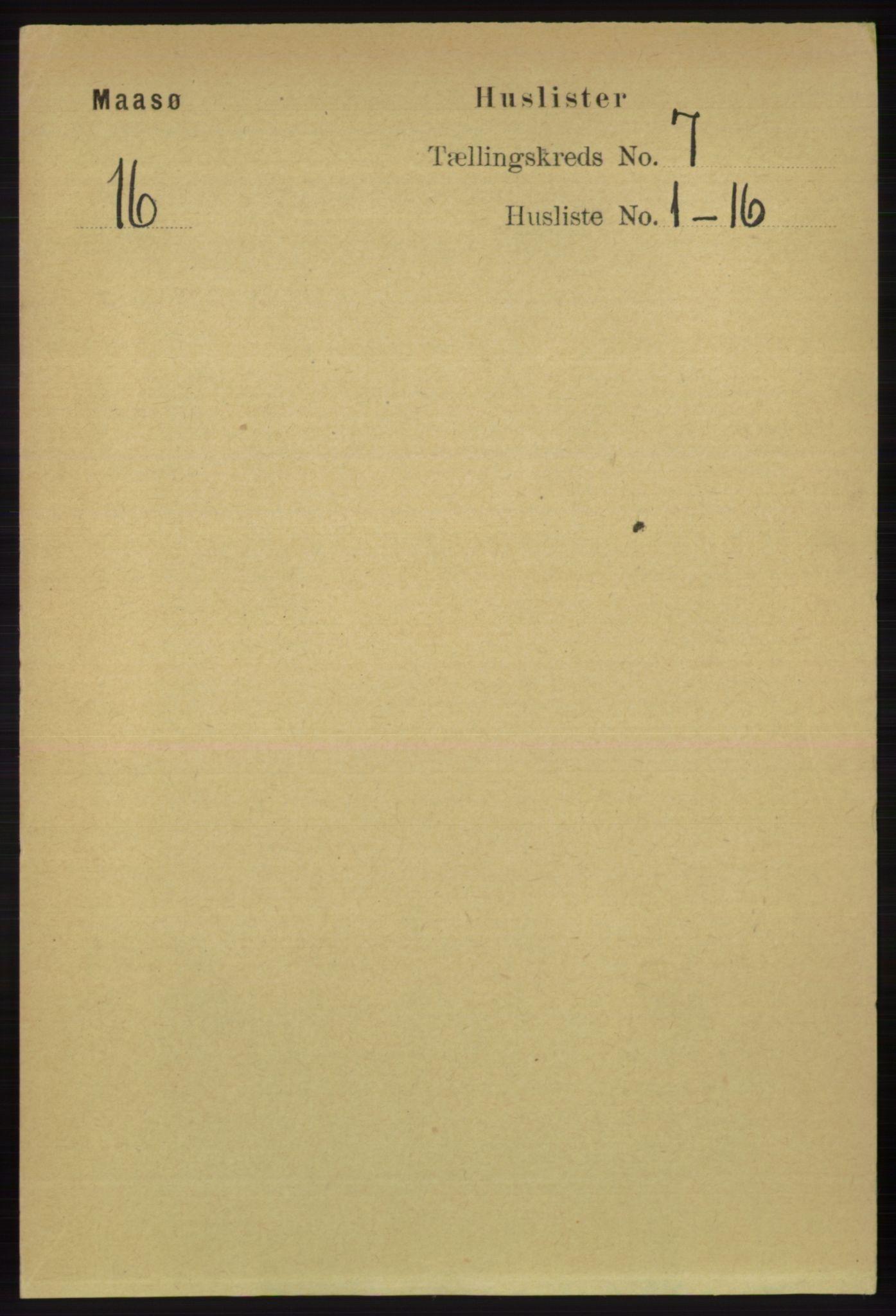 RA, Folketelling 1891 for 2018 Måsøy herred, 1891, s. 1384