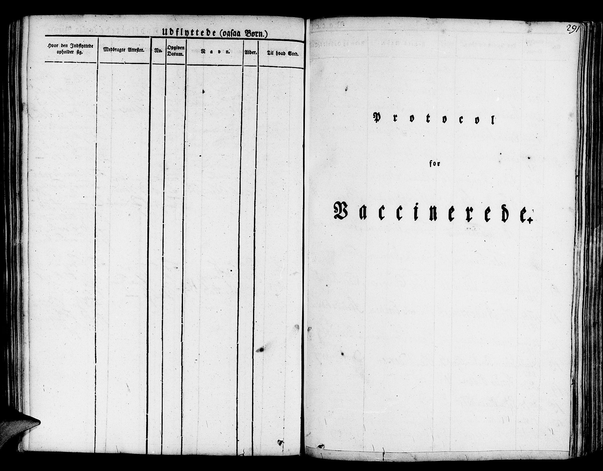 SAB, Askøy Sokneprestembete, H: Ministerialbok nr. A 4, 1825-1845, s. 291