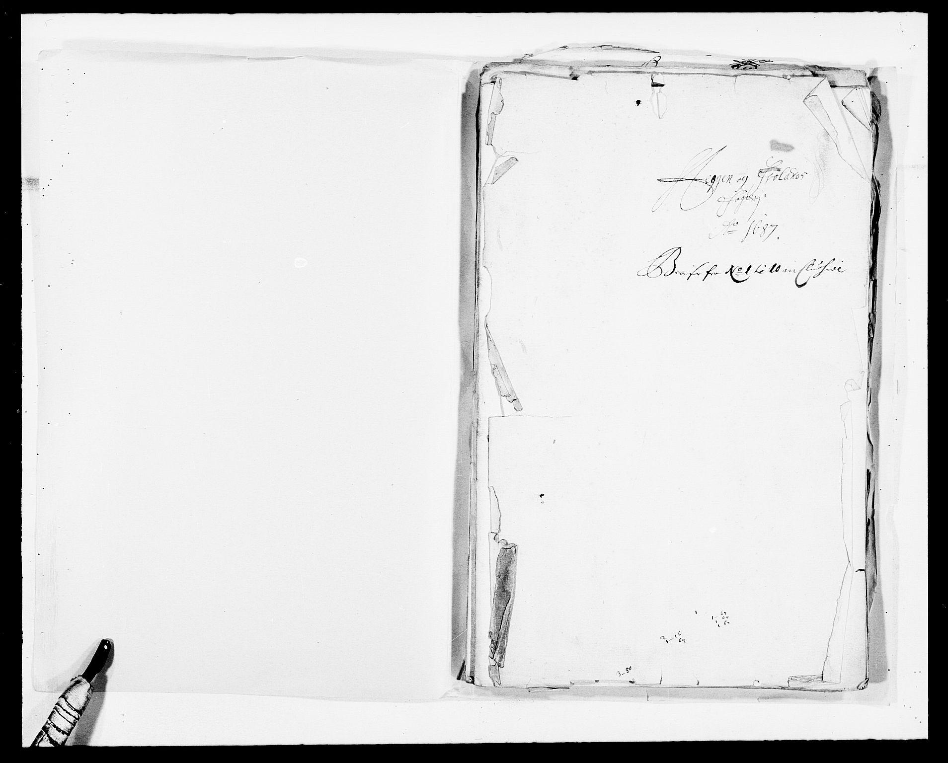 RA, Rentekammeret inntil 1814, Reviderte regnskaper, Fogderegnskap, R06/L0282: Fogderegnskap Heggen og Frøland, 1687-1690, s. 2