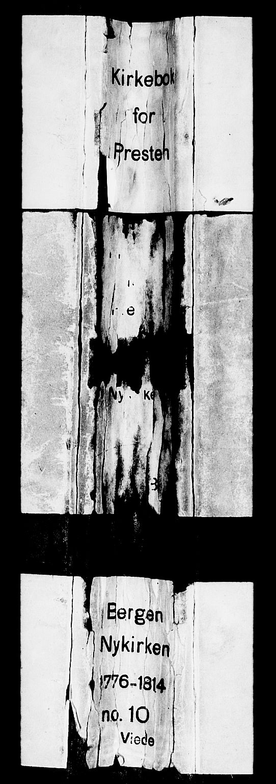 SAB, Nykirken Sokneprestembete, H/Haa: Ministerialbok nr. A 8, 1776-1814