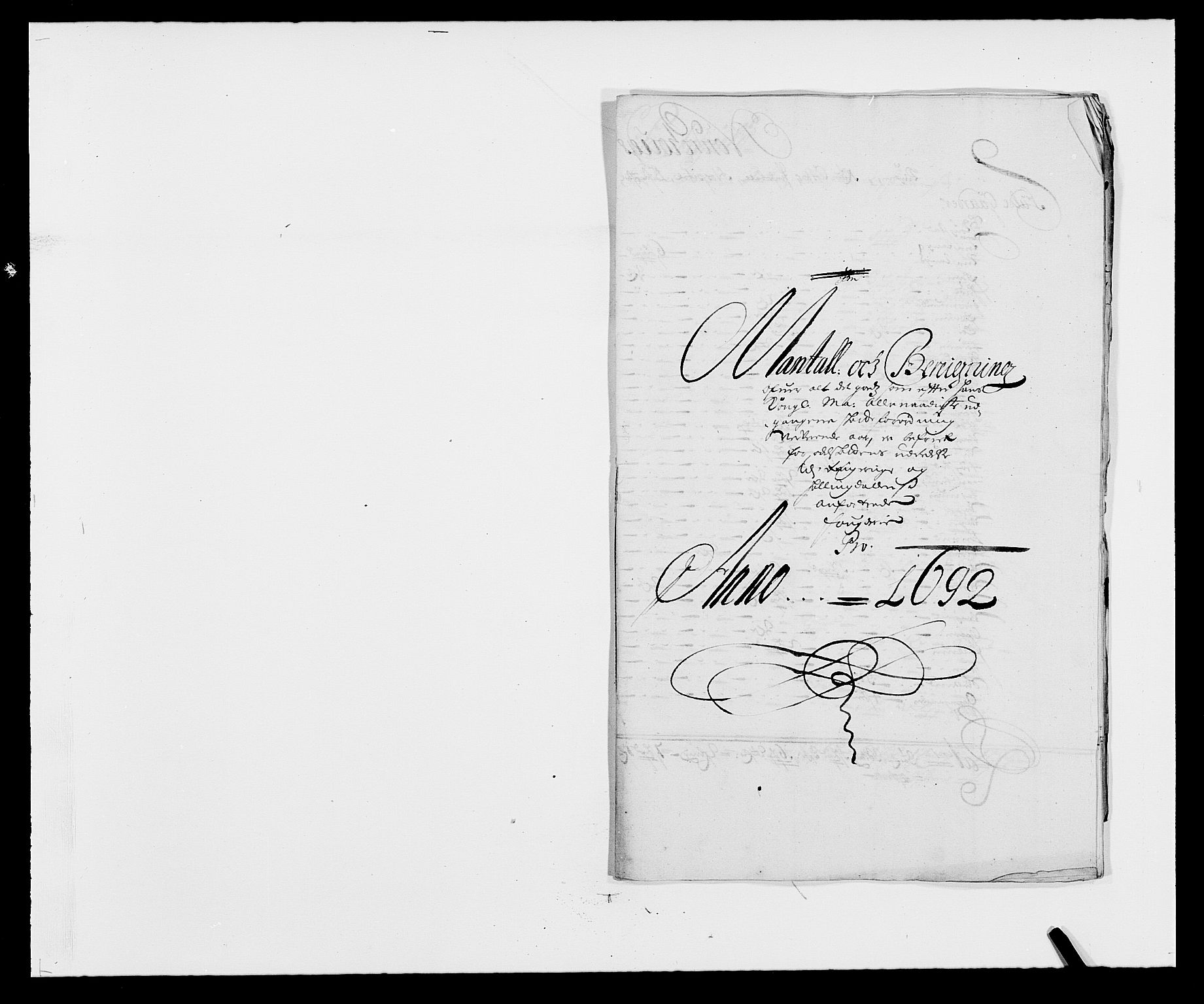 RA, Rentekammeret inntil 1814, Reviderte regnskaper, Fogderegnskap, R21/L1449: Fogderegnskap Ringerike og Hallingdal, 1690-1692, s. 187