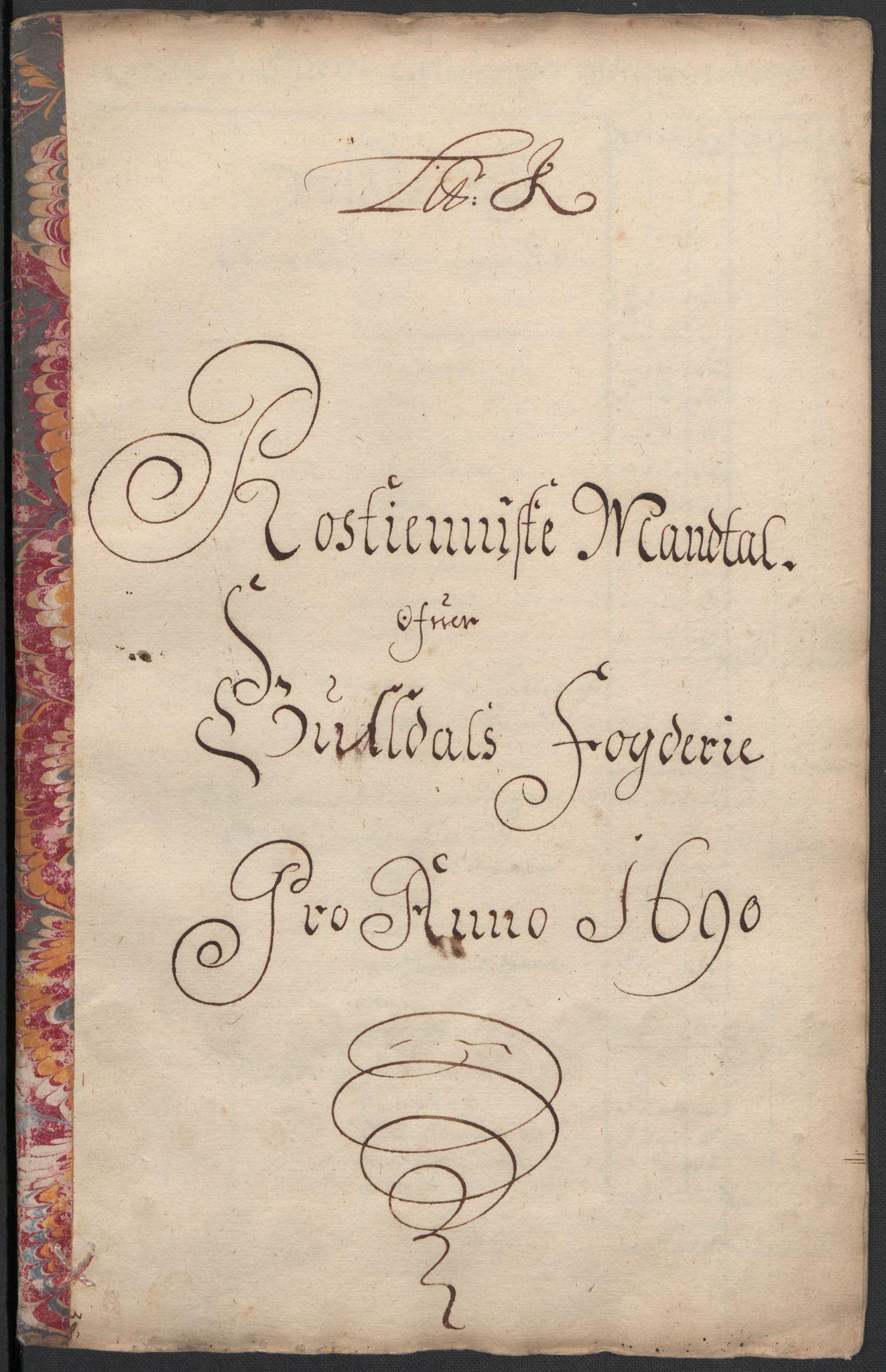 RA, Rentekammeret inntil 1814, Reviderte regnskaper, Fogderegnskap, R59/L3940: Fogderegnskap Gauldal, 1689-1690, s. 311