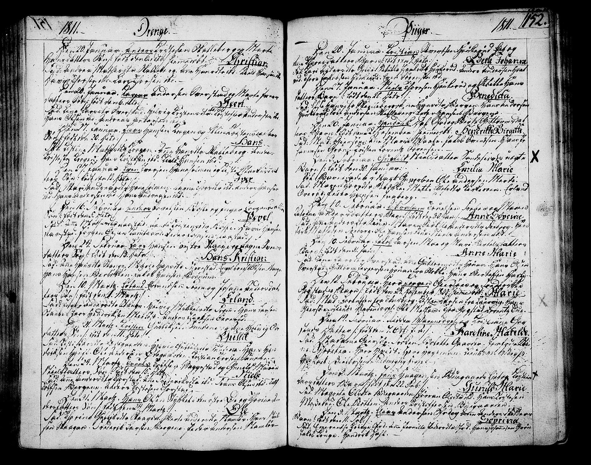 SAKO, Sandar kirkebøker, F/Fa/L0003: Ministerialbok nr. 3, 1789-1814, s. 152