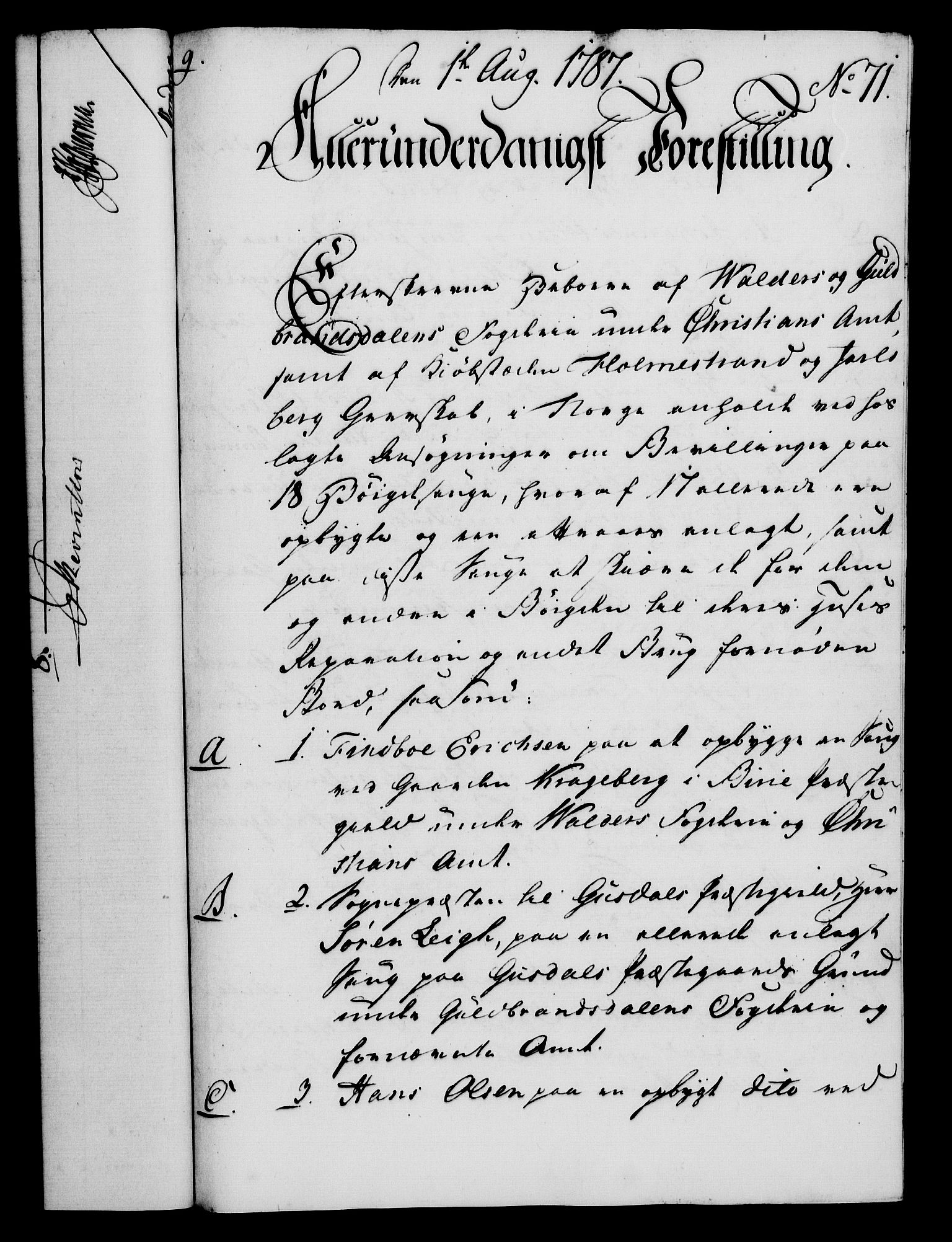 RA, Rentekammeret, Kammerkanselliet, G/Gf/Gfa/L0069: Norsk relasjons- og resolusjonsprotokoll (merket RK 52.69), 1787, s. 874