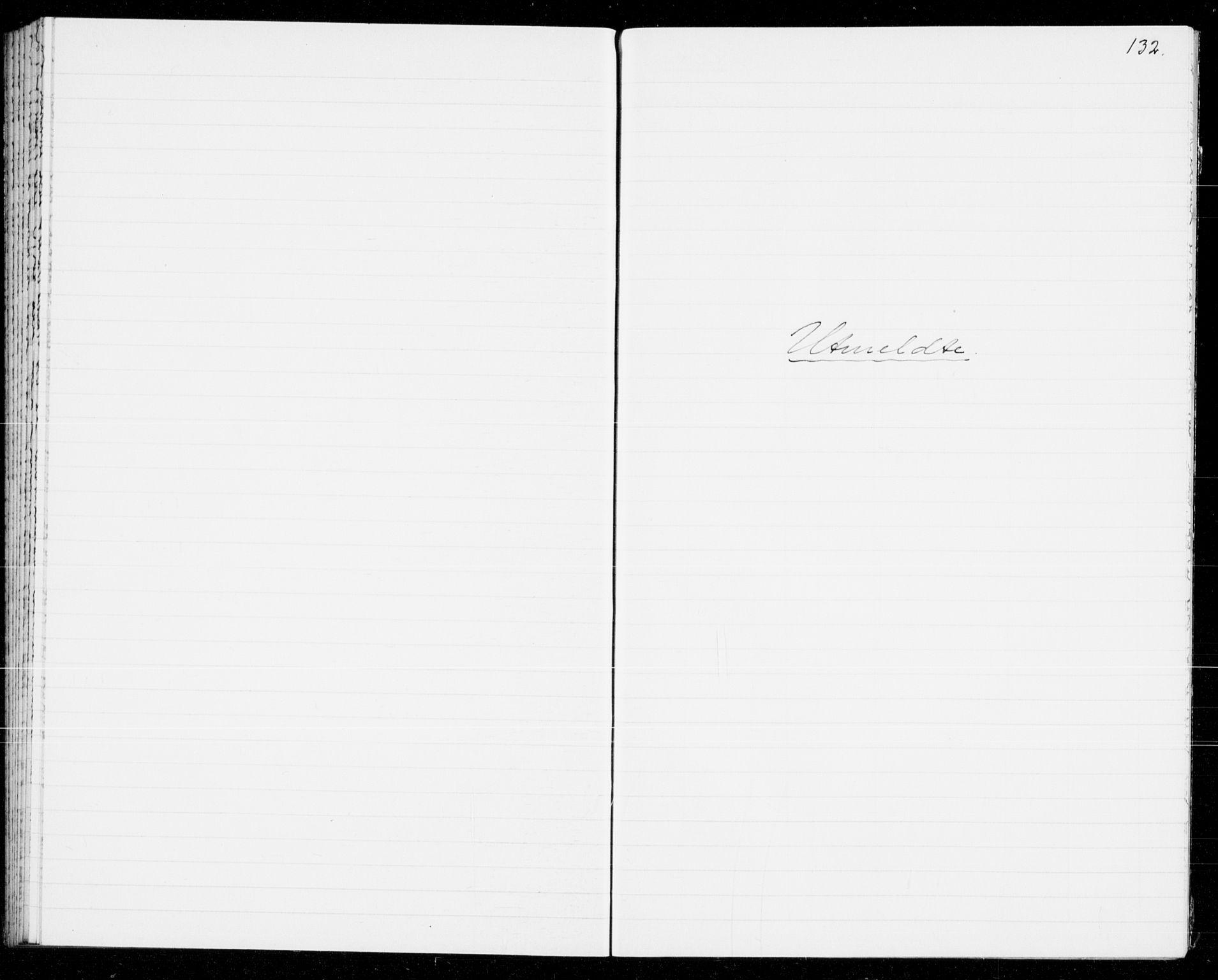 SAKO, Holla kirkebøker, G/Gb/L0004: Klokkerbok nr. II 4, 1942-1943, s. 132