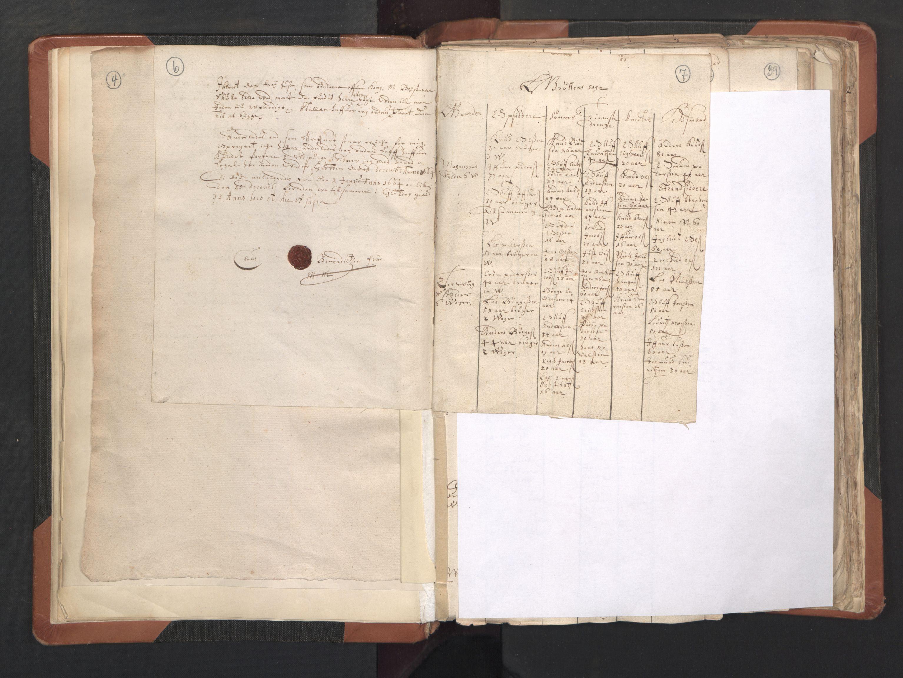 RA, Sogneprestenes manntall 1664-1666, nr. 27: Romsdal prosti, 1664-1666, s. 6-7