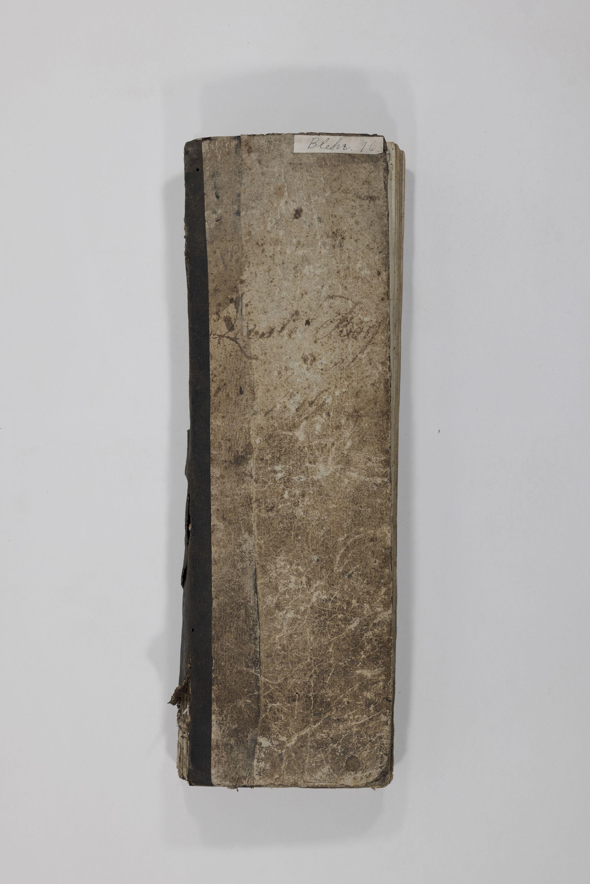 TEMU, Blehr/ Kjellestad, E/Eb/L0001: Laste Bog, 1819