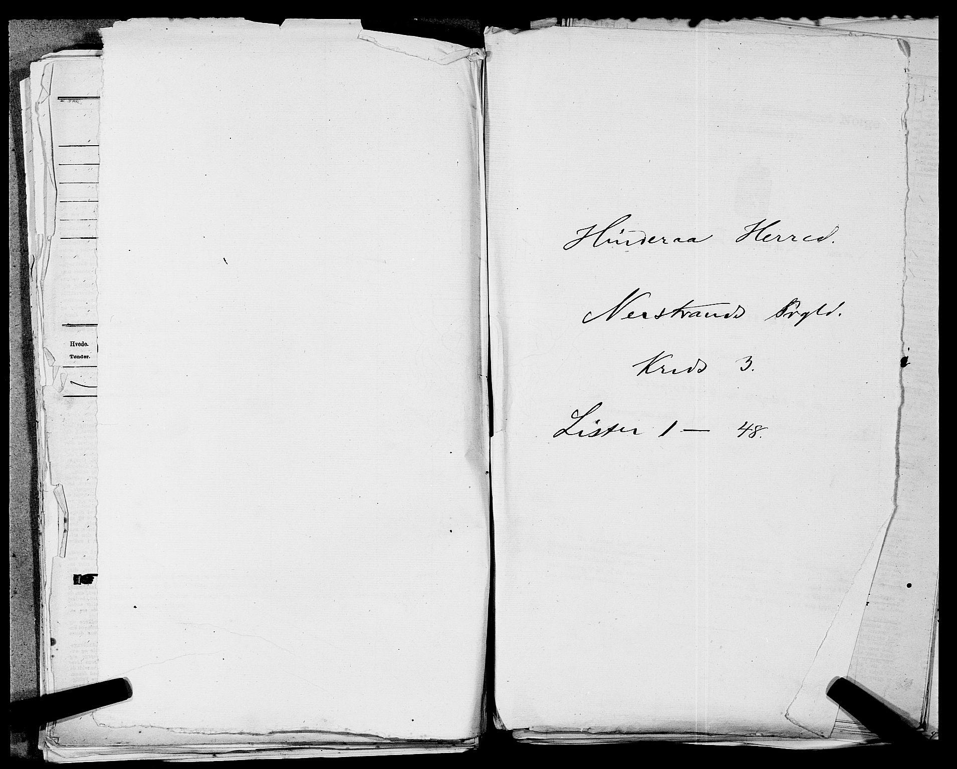 SAST, Folketelling 1875 for 1139P Nedstrand prestegjeld, 1875, s. 441
