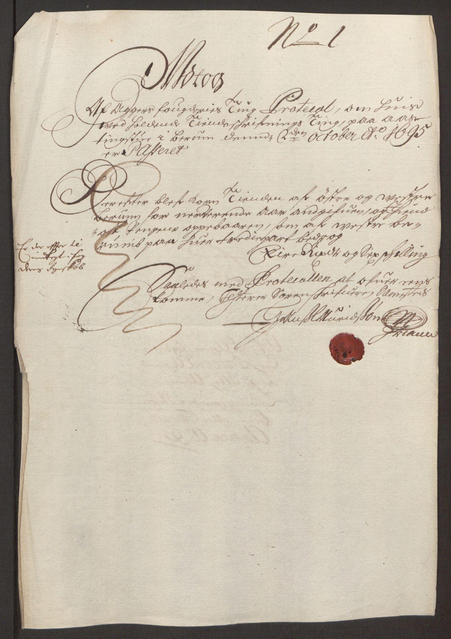 RA, Rentekammeret inntil 1814, Reviderte regnskaper, Fogderegnskap, R10/L0439: Fogderegnskap Aker og Follo, 1695, s. 88