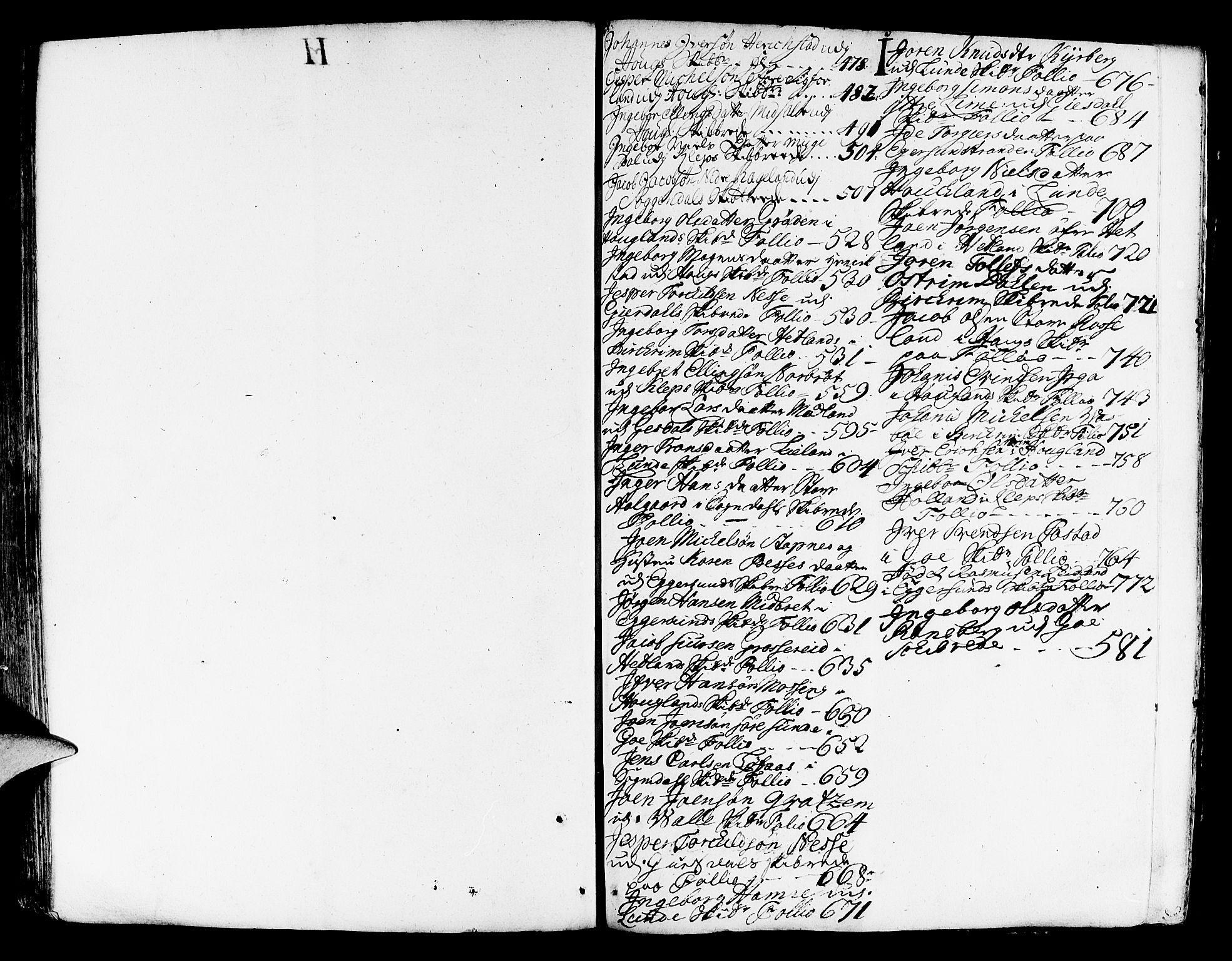 SAST, Jæren og Dalane sorenskriveri, 5/50BA/L0006B: SKIFTEPROTOKOLL, 1722-1739