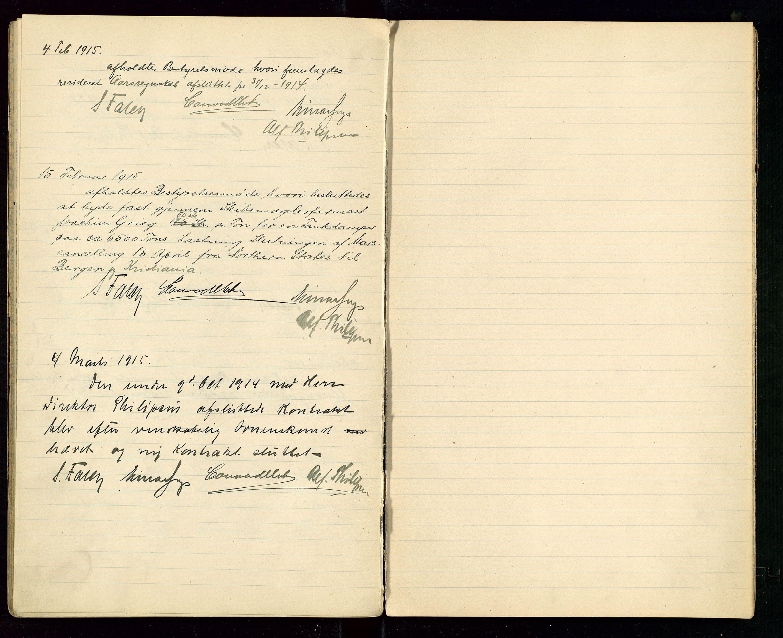 SAST, PA 1533 - A/S Vestlandske Petroleumscompani, A/Aa/L0001: Generalforsamlinger og styreprotokoller, 1907-1915, s. 55