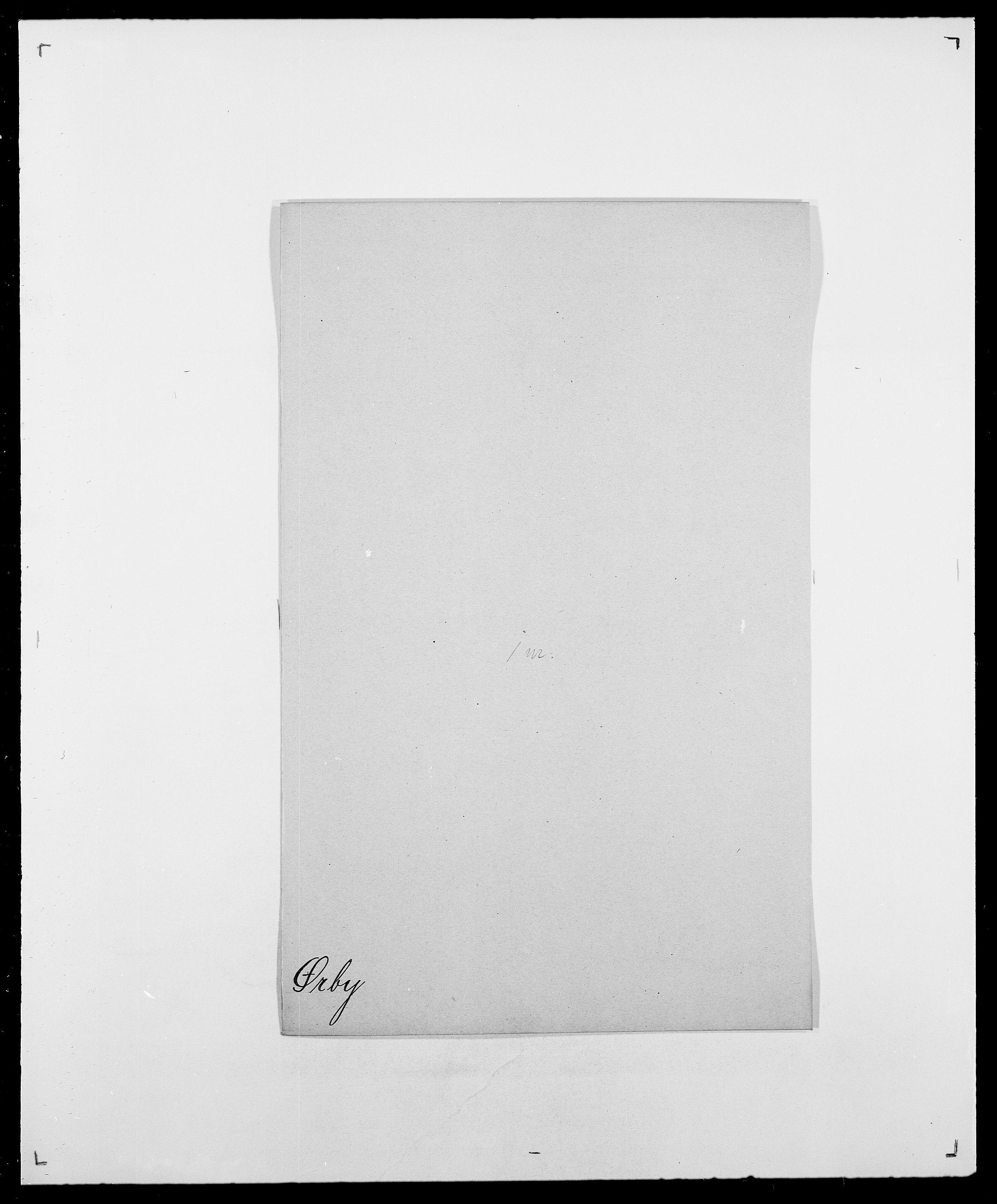 SAO, Delgobe, Charles Antoine - samling, D/Da/L0043: Wulfsberg - v. Zanten, s. 306