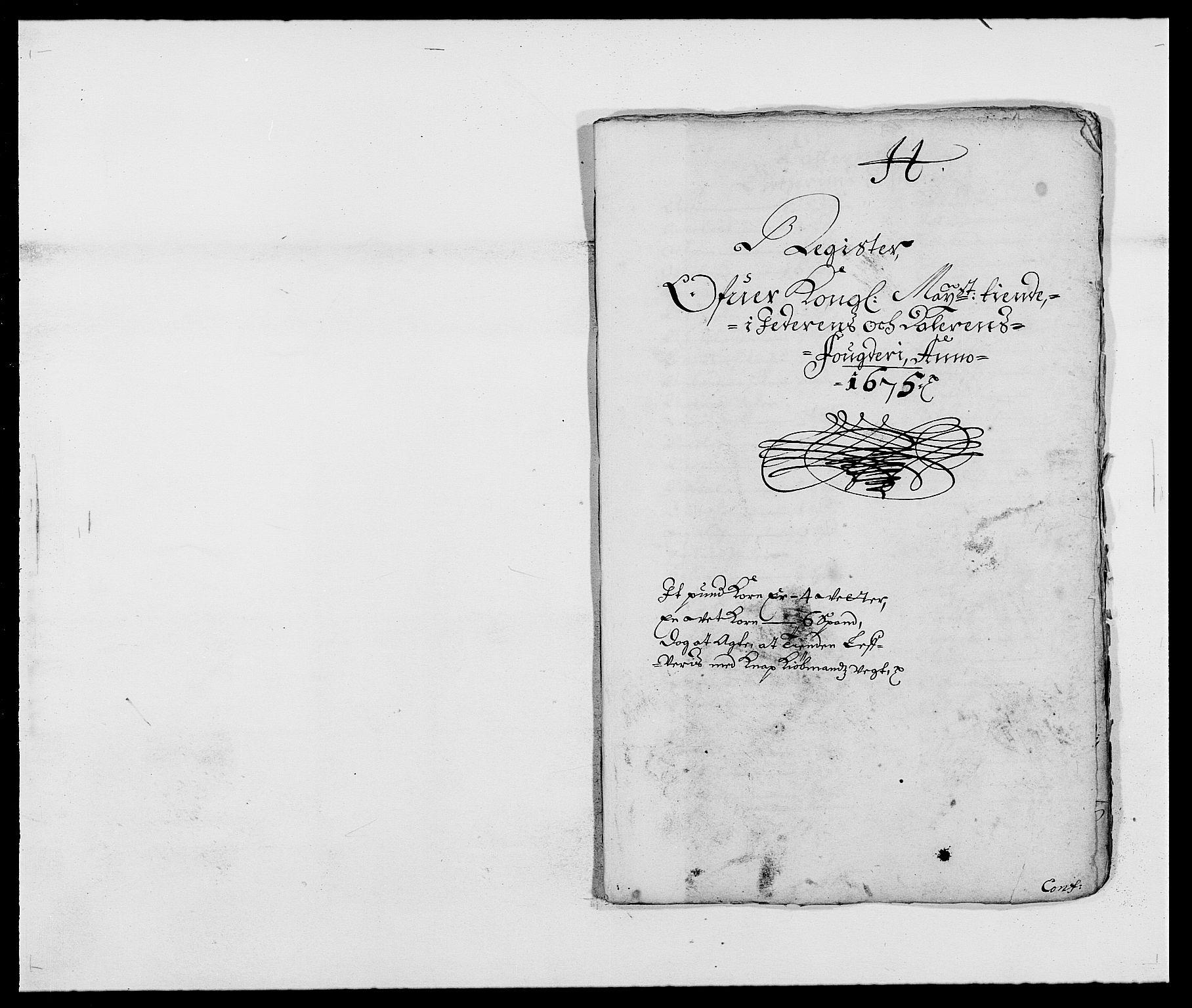 RA, Rentekammeret inntil 1814, Reviderte regnskaper, Fogderegnskap, R46/L2715: Fogderegnskap Jæren og Dalane, 1675, s. 246