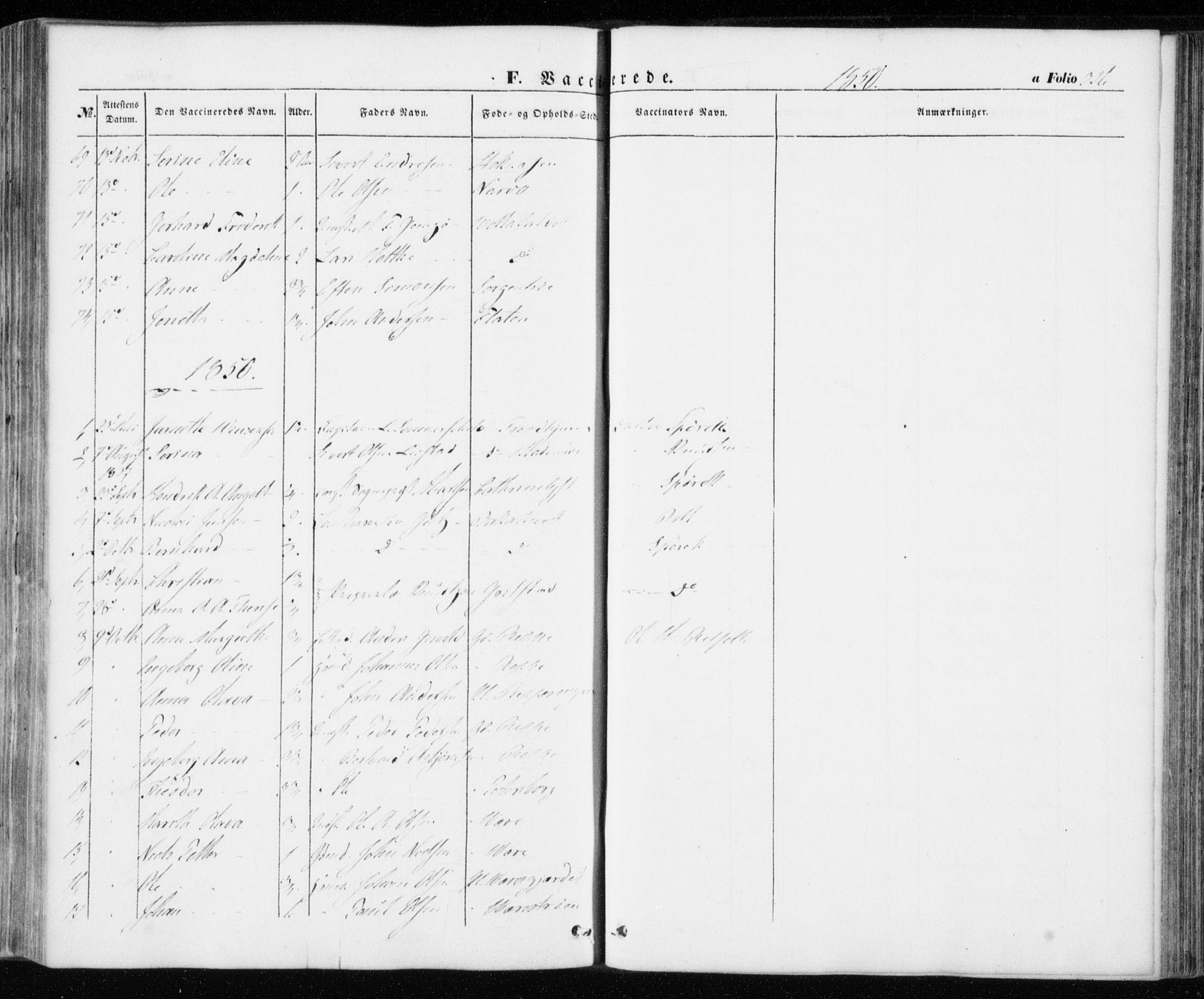 SAT, Ministerialprotokoller, klokkerbøker og fødselsregistre - Sør-Trøndelag, 606/L0291: Ministerialbok nr. 606A06, 1848-1856, s. 326