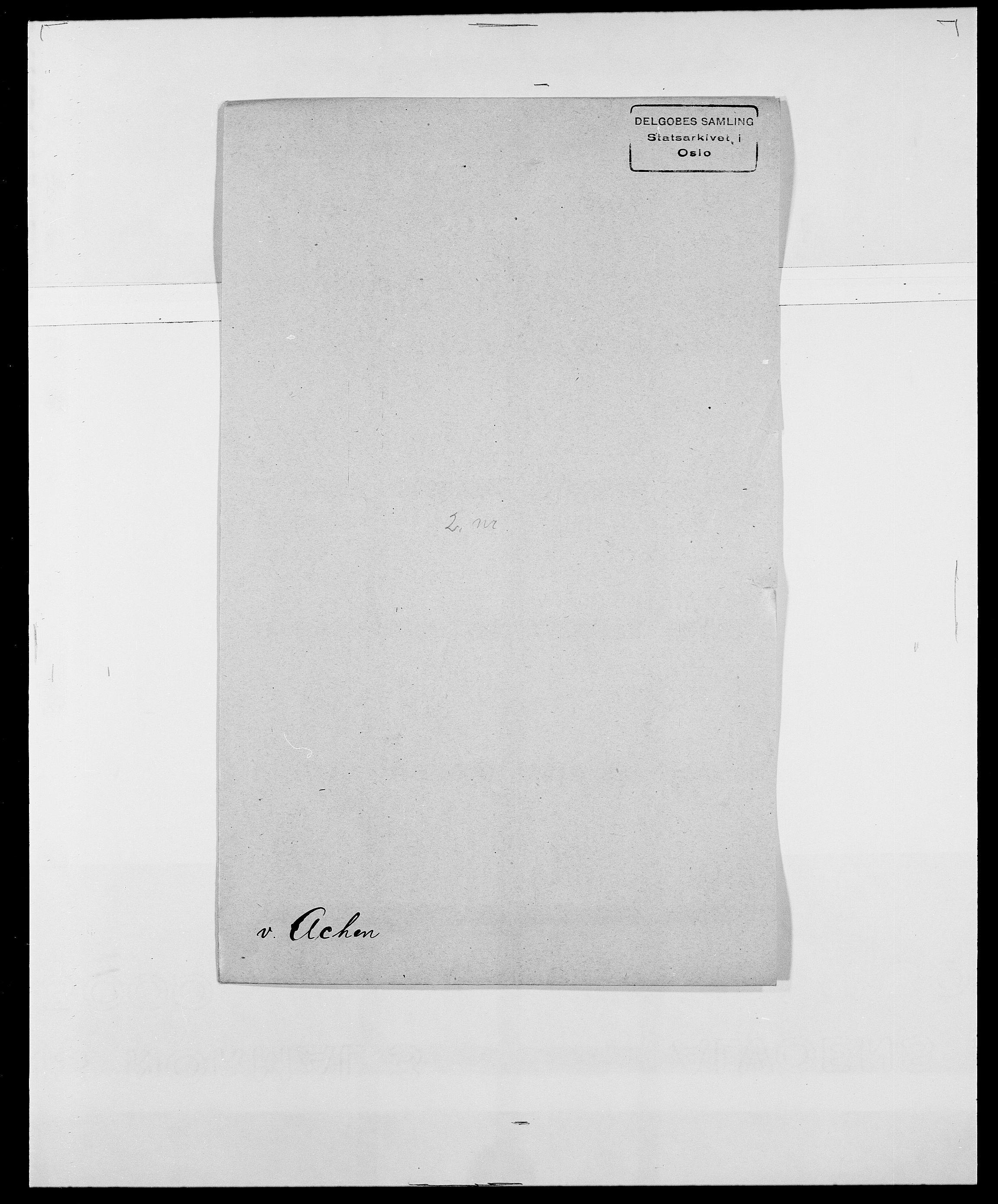 SAO, Delgobe, Charles Antoine - samling, D/Da/L0001: Aabye - Angerman, s. 237