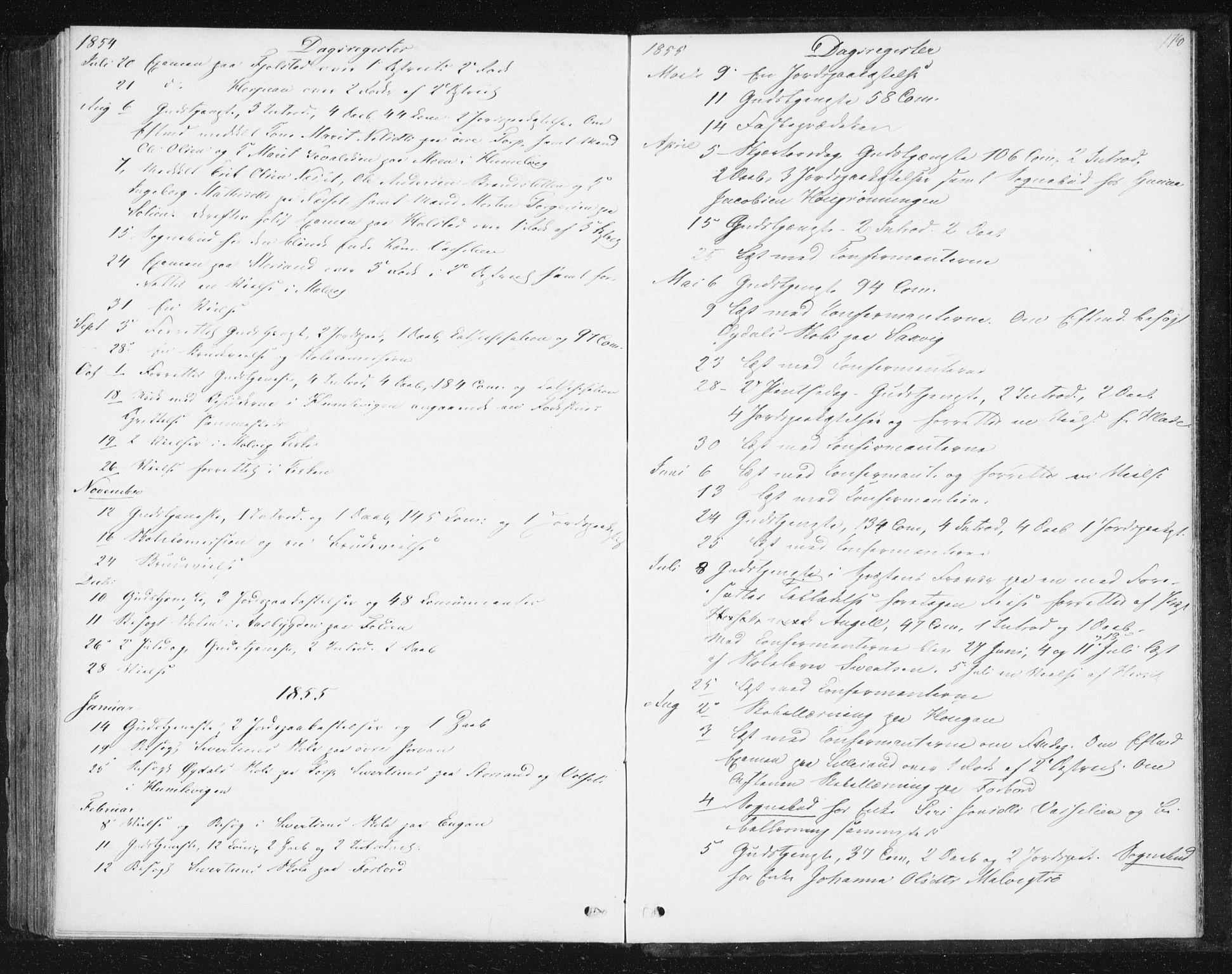 SAT, Ministerialprotokoller, klokkerbøker og fødselsregistre - Sør-Trøndelag, 616/L0407: Ministerialbok nr. 616A04, 1848-1856, s. 178