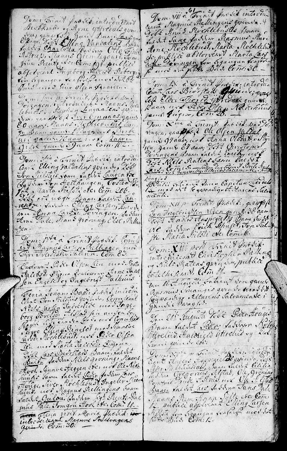 SAT, Ministerialprotokoller, klokkerbøker og fødselsregistre - Møre og Romsdal, 519/L0243: Ministerialbok nr. 519A02, 1760-1770, s. 3-4