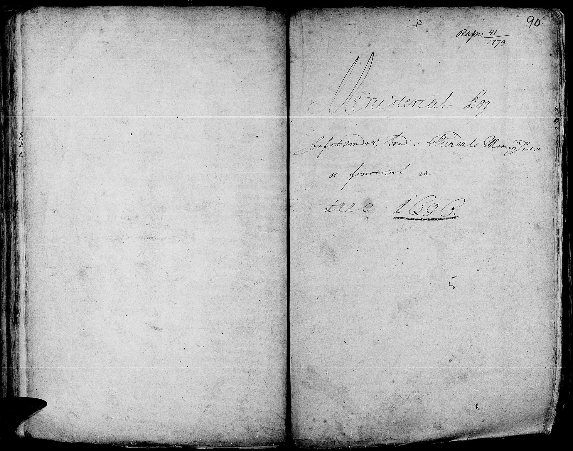 SAH, Aurdal prestekontor, Ministerialbok nr. 1-3, 1692-1730, s. 90