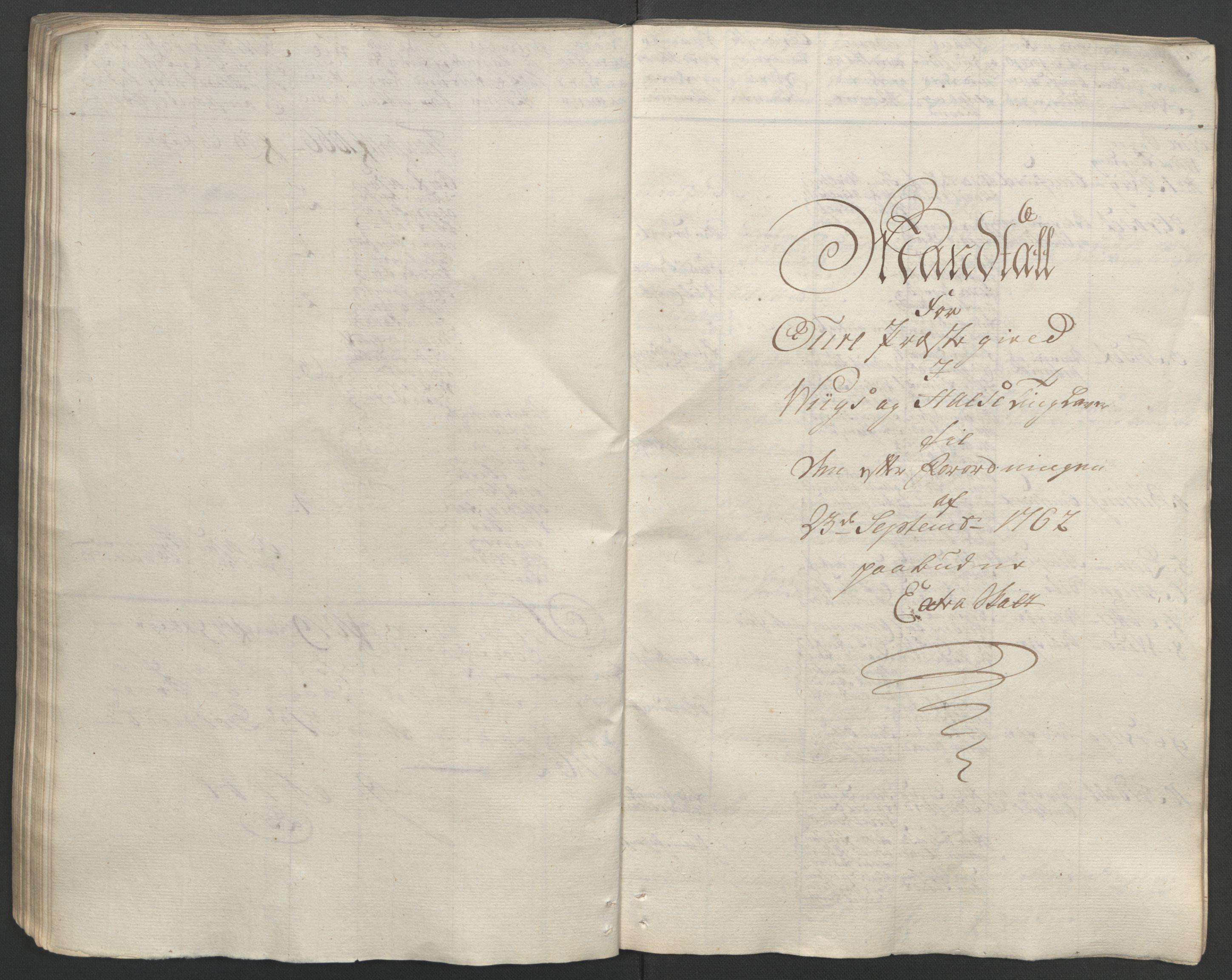 RA, Rentekammeret inntil 1814, Reviderte regnskaper, Fogderegnskap, R56/L3841: Ekstraskatten Nordmøre, 1762-1763, s. 102