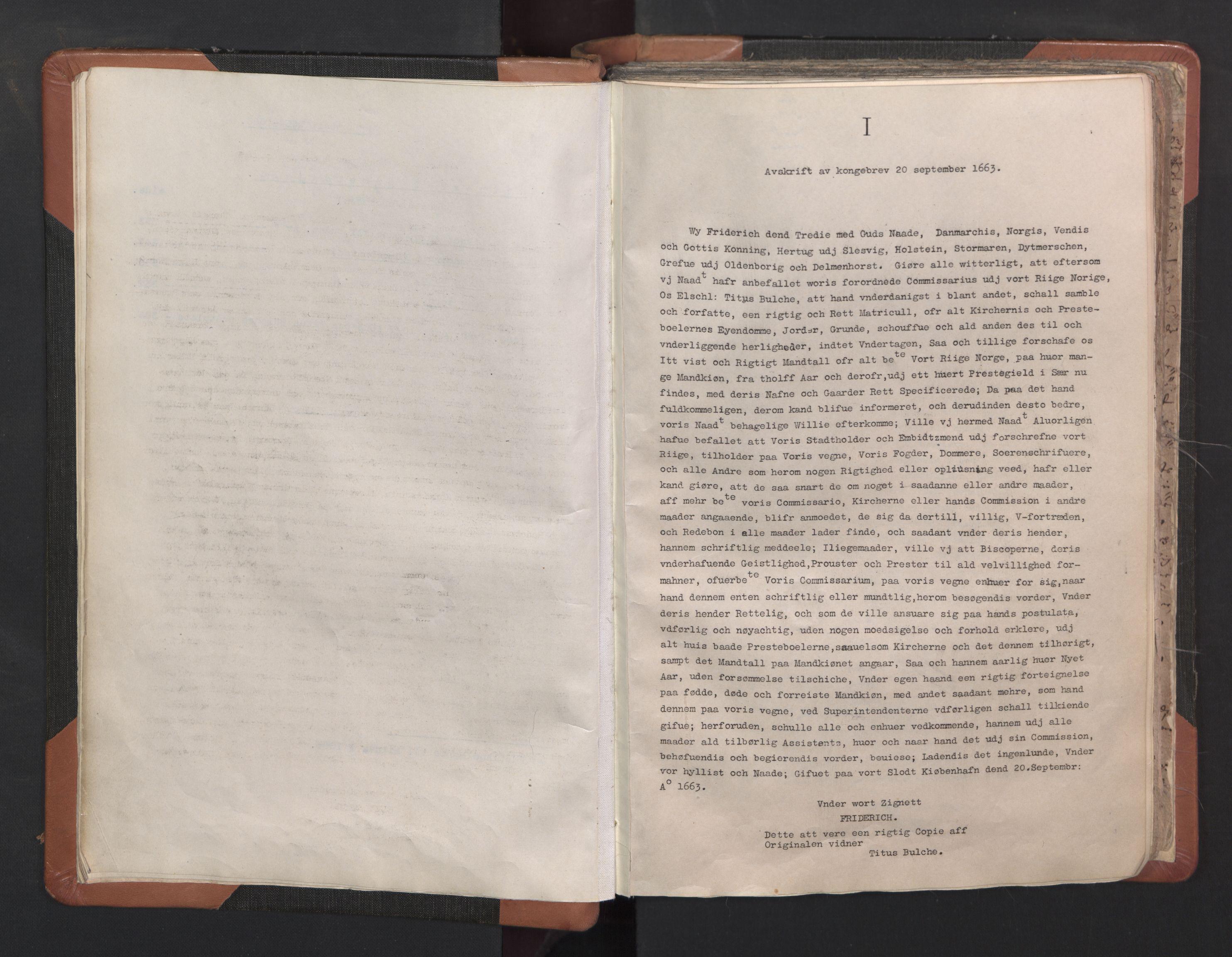 RA, Sogneprestenes manntall 1664-1666, nr. 16: Lista prosti, 1664-1666, s. upaginert