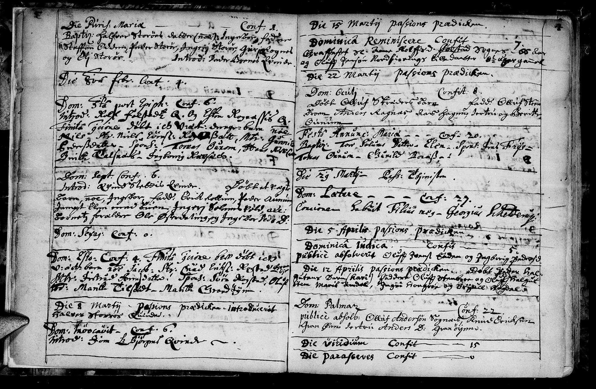 SAT, Ministerialprotokoller, klokkerbøker og fødselsregistre - Sør-Trøndelag, 687/L0990: Ministerialbok nr. 687A01, 1690-1746, s. 4