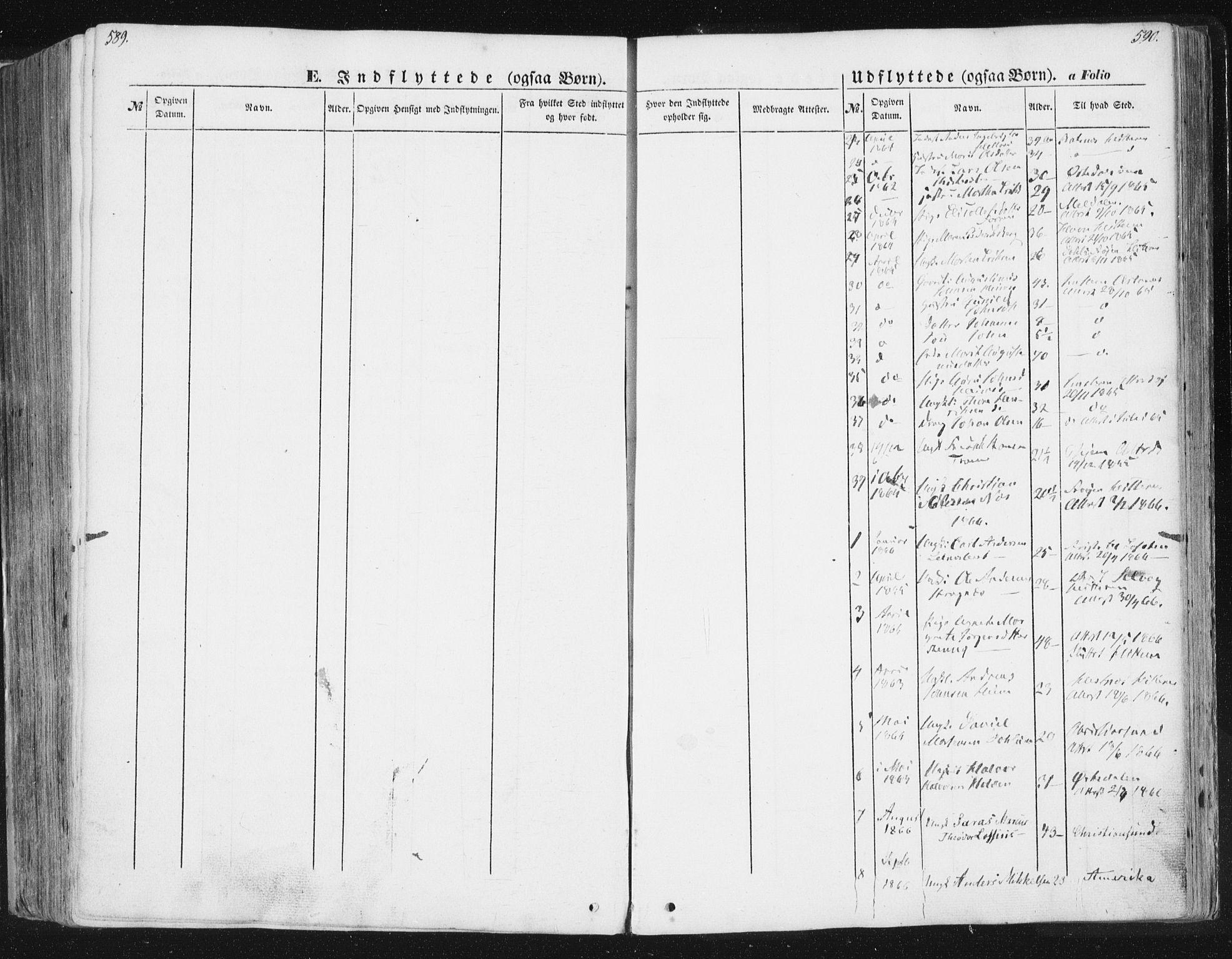 SAT, Ministerialprotokoller, klokkerbøker og fødselsregistre - Sør-Trøndelag, 630/L0494: Ministerialbok nr. 630A07, 1852-1868, s. 589-590