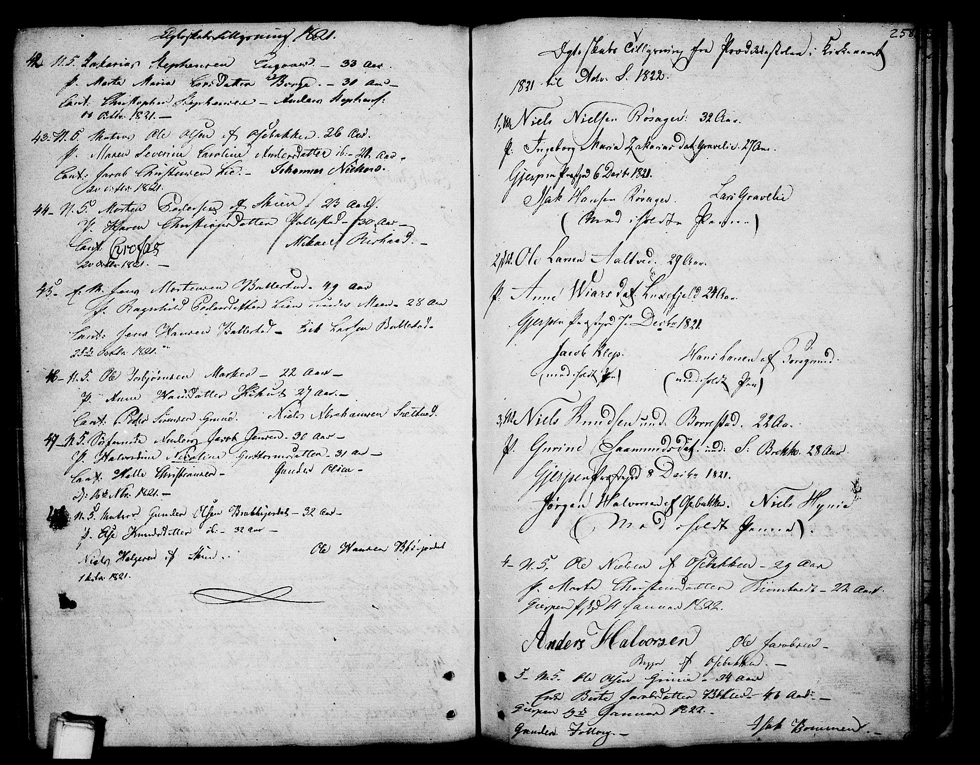SAKO, Gjerpen kirkebøker, F/Fa/L0003: Ministerialbok nr. 3, 1796-1814, s. 258