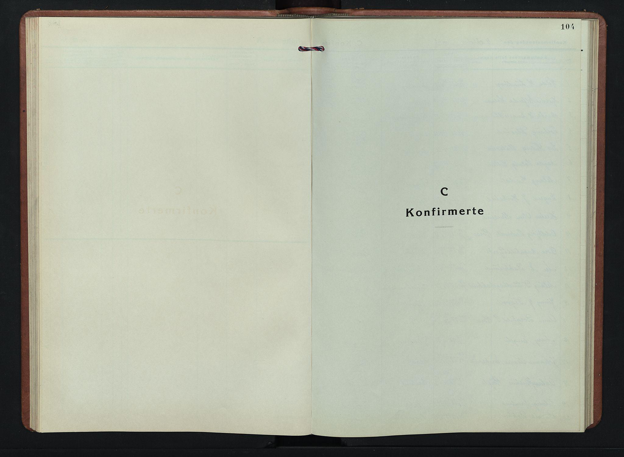 SAH, Kolbu prestekontor, Klokkerbok nr. 4, 1942-1953, s. 104