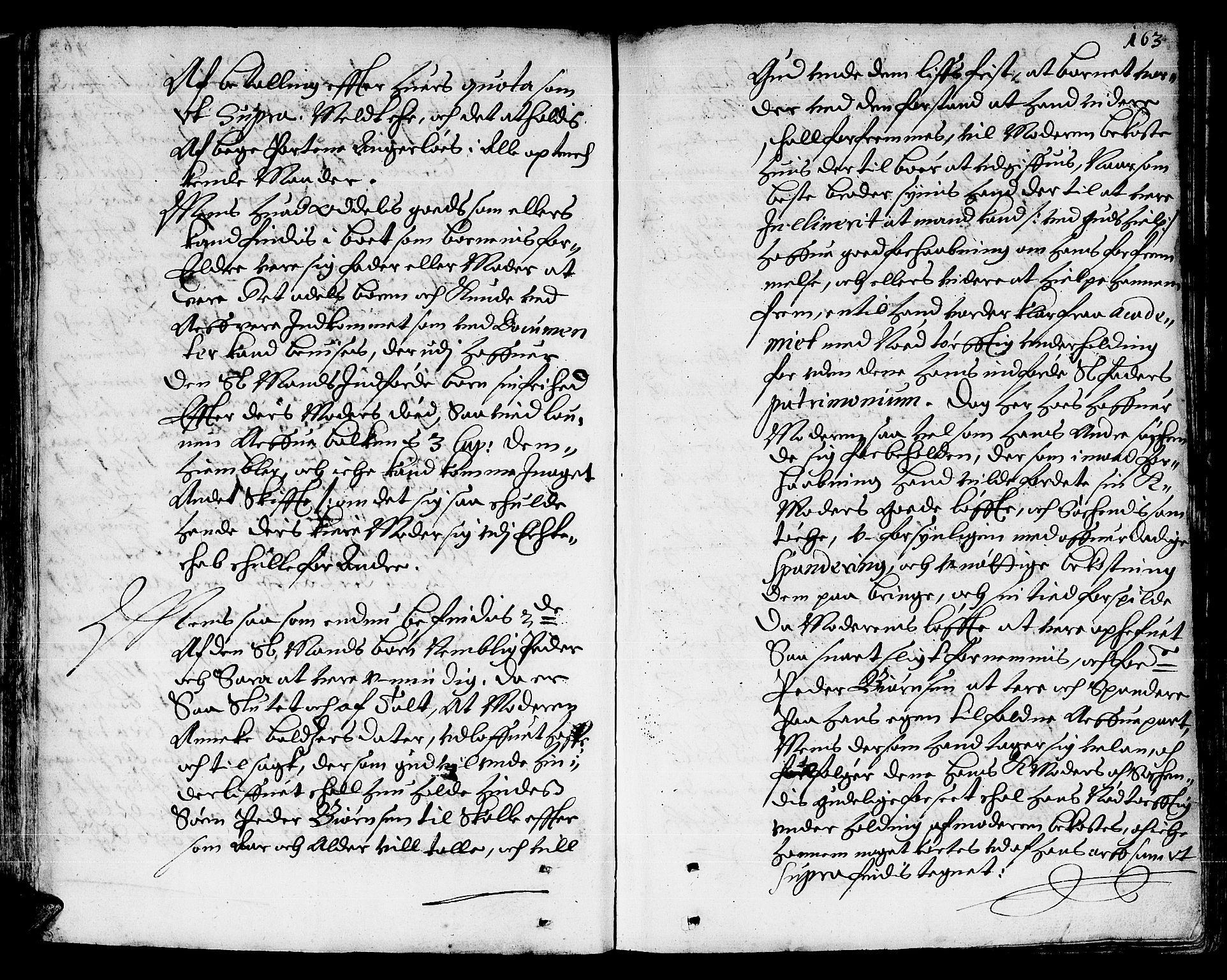 SAT, Lofoten sorenskriveri, 3/3A/L0001: Skifteprotokoll, 1673-1694, s. 162b-163a
